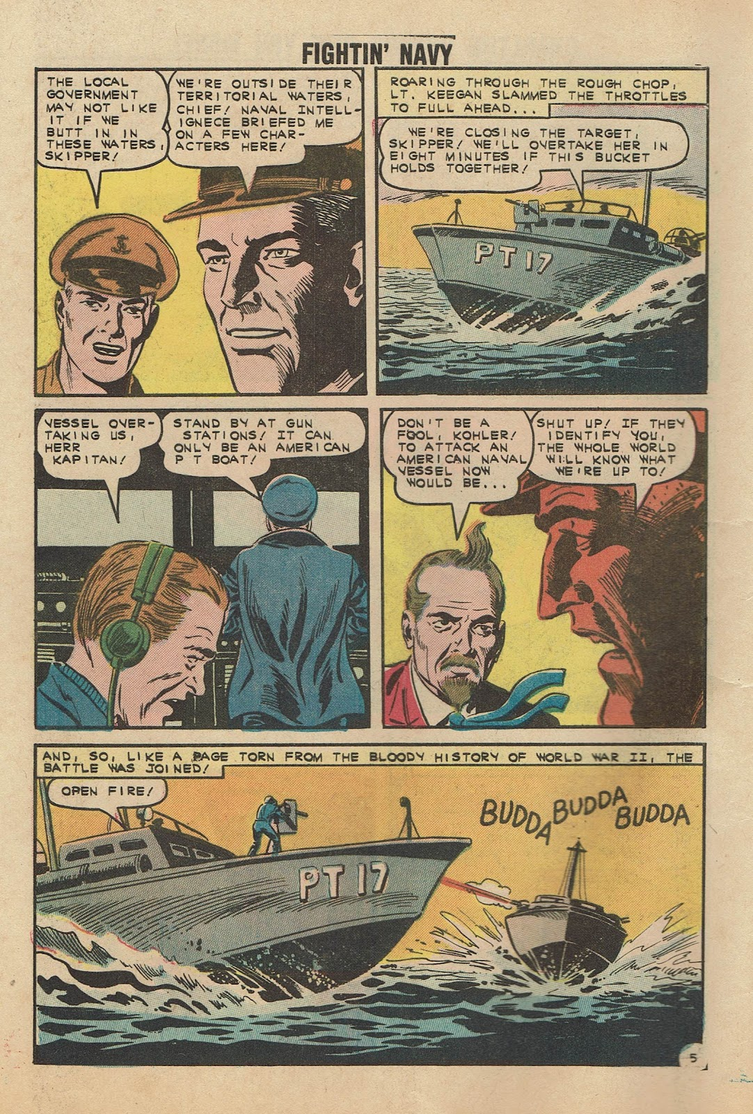 Read online Fightin' Navy comic -  Issue #104 - 8