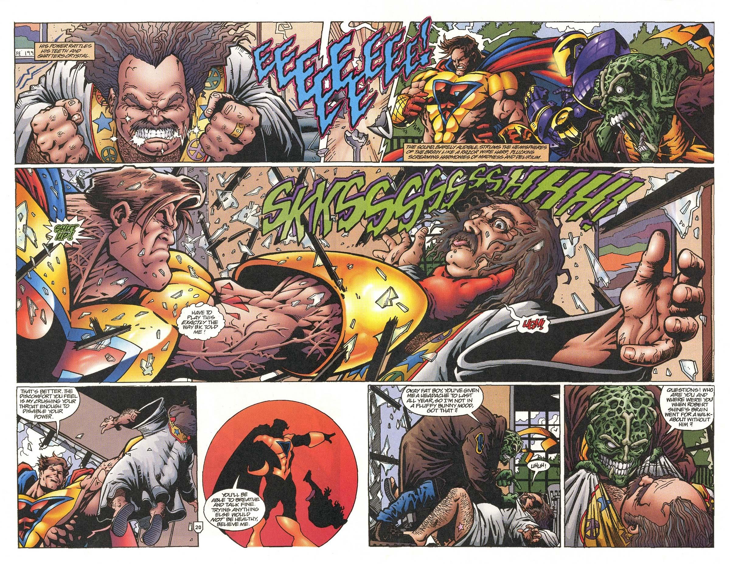 Read online UltraForce (1995) comic -  Issue #5 - 25