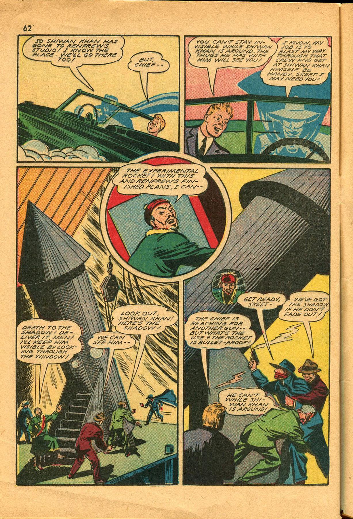 Read online Shadow Comics comic -  Issue #23 - 62