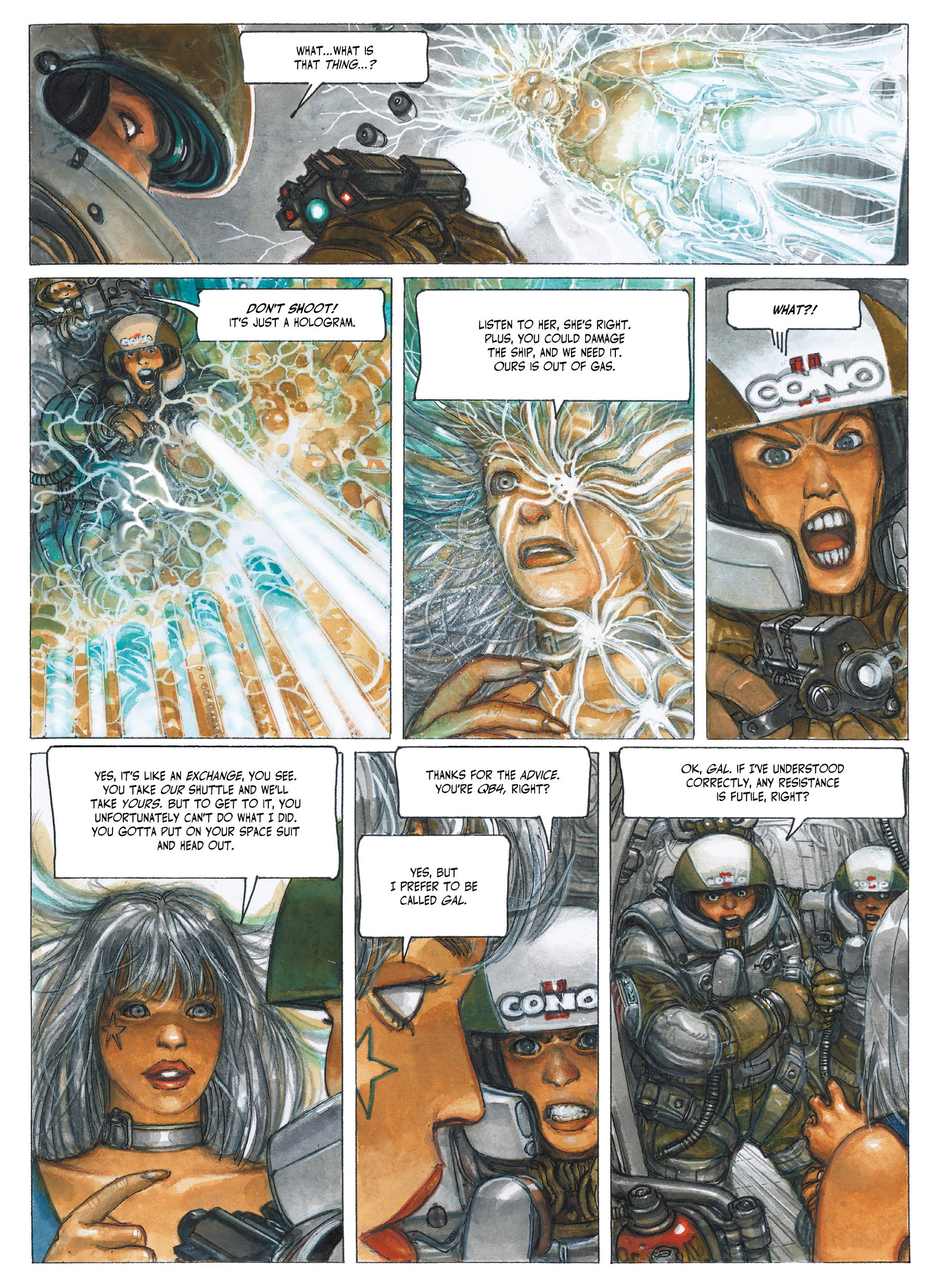 Read online The Fourth Power comic -  Issue #3 - 19