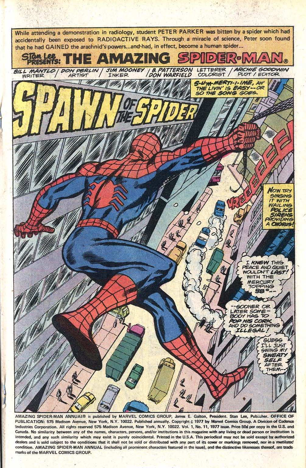 The Amazing Spider-Man (1963) _Annual_11 Page 2