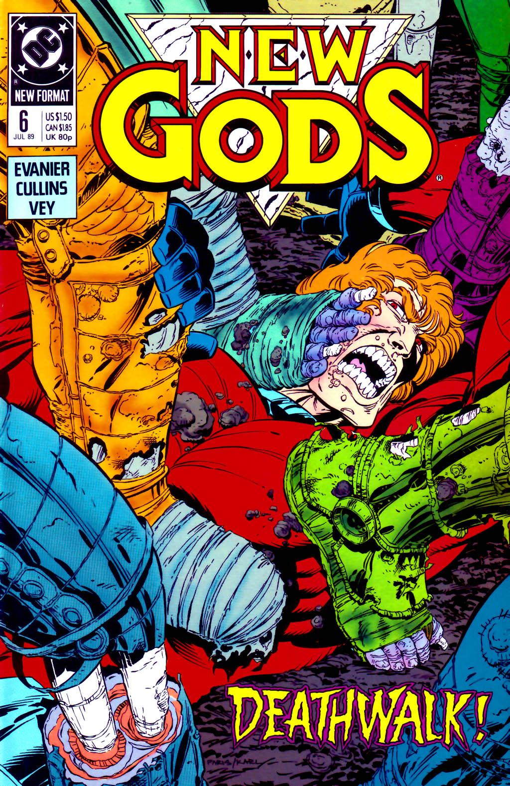 The New Gods (1989) 6 Page 1