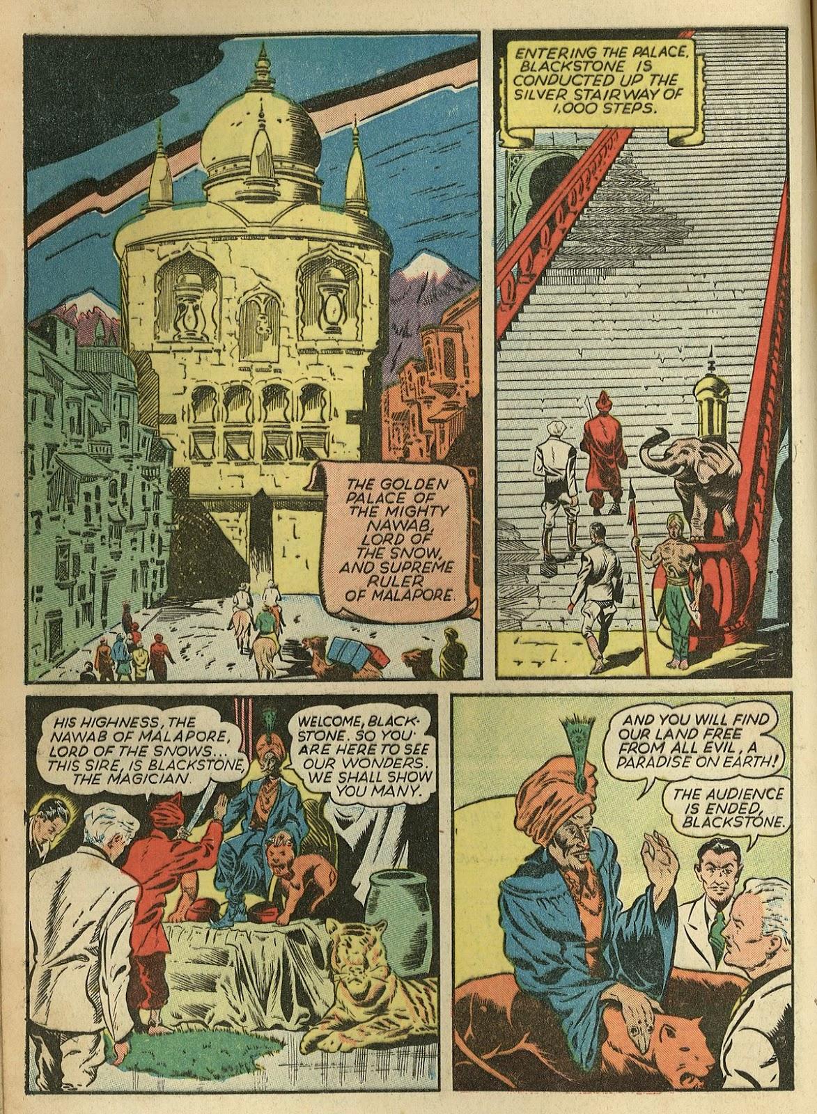 Read online Super-Magician Comics comic -  Issue #1 - 14
