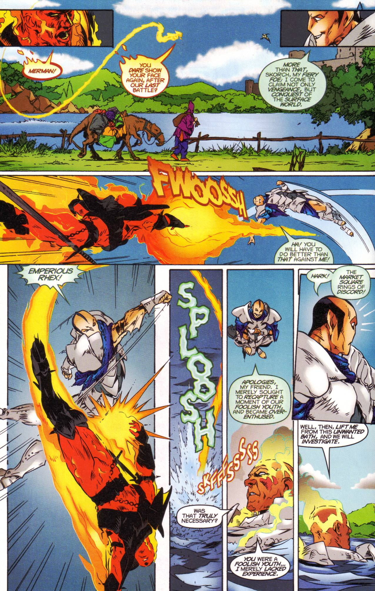 Read online Avataars: Covenant of the Shield comic -  Issue #1 - 8