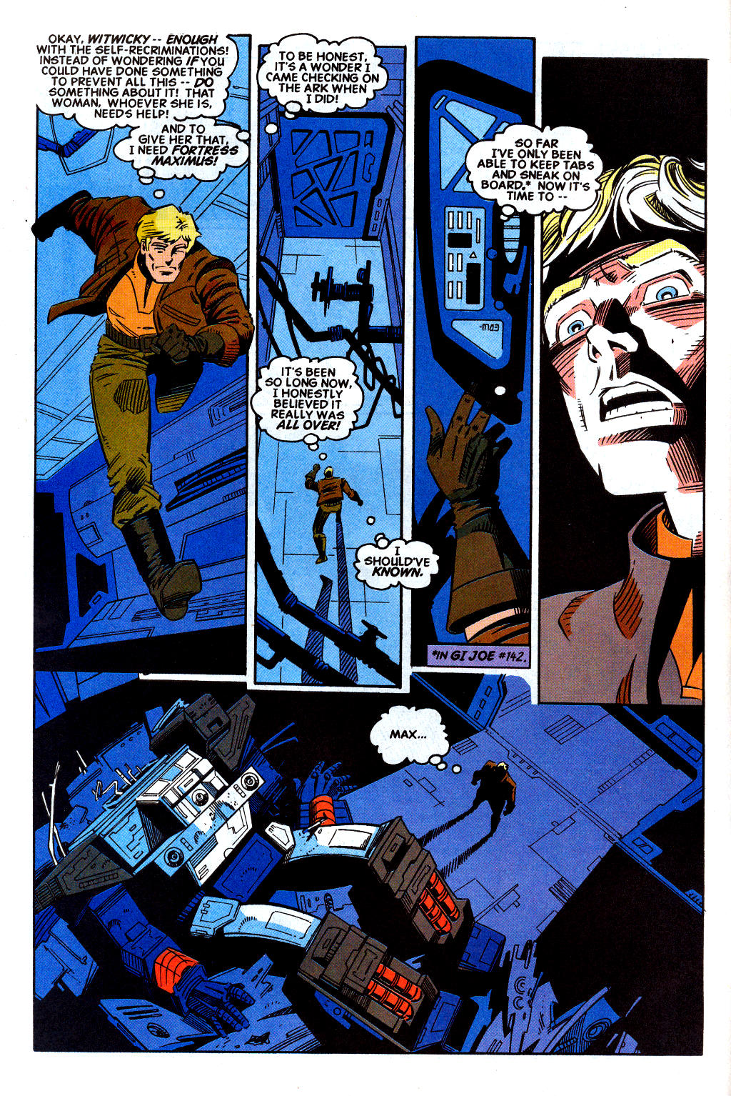 Read online Transformers: Generation 2 comic -  Issue #2 - 5