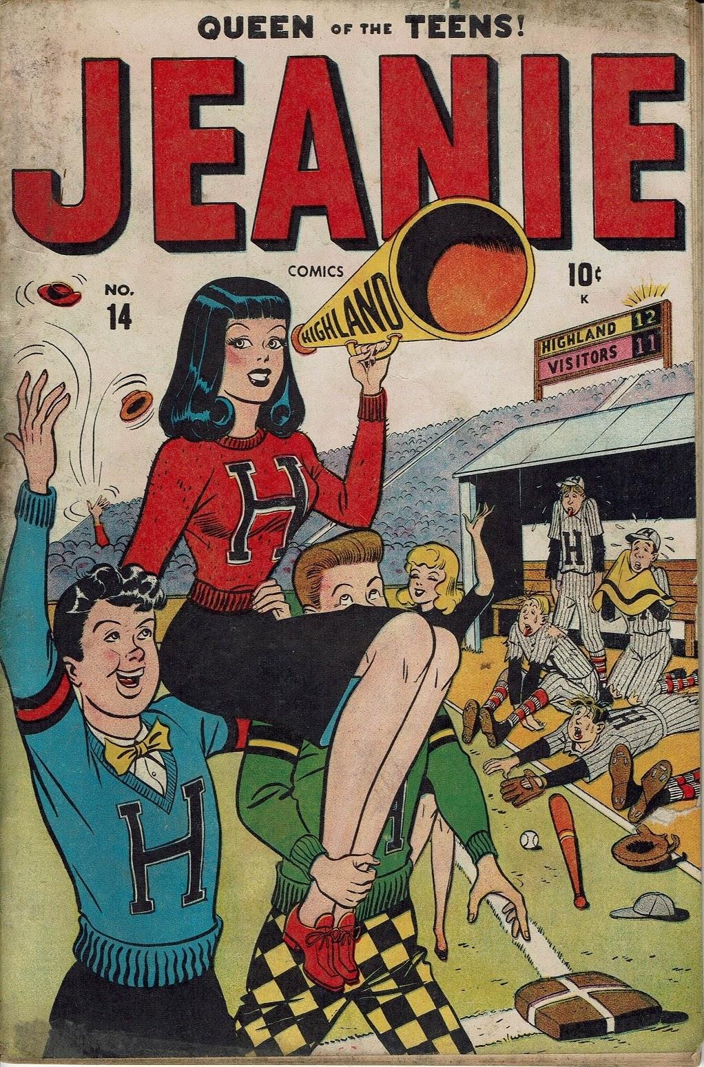 Jeanie Comics 14 Page 1