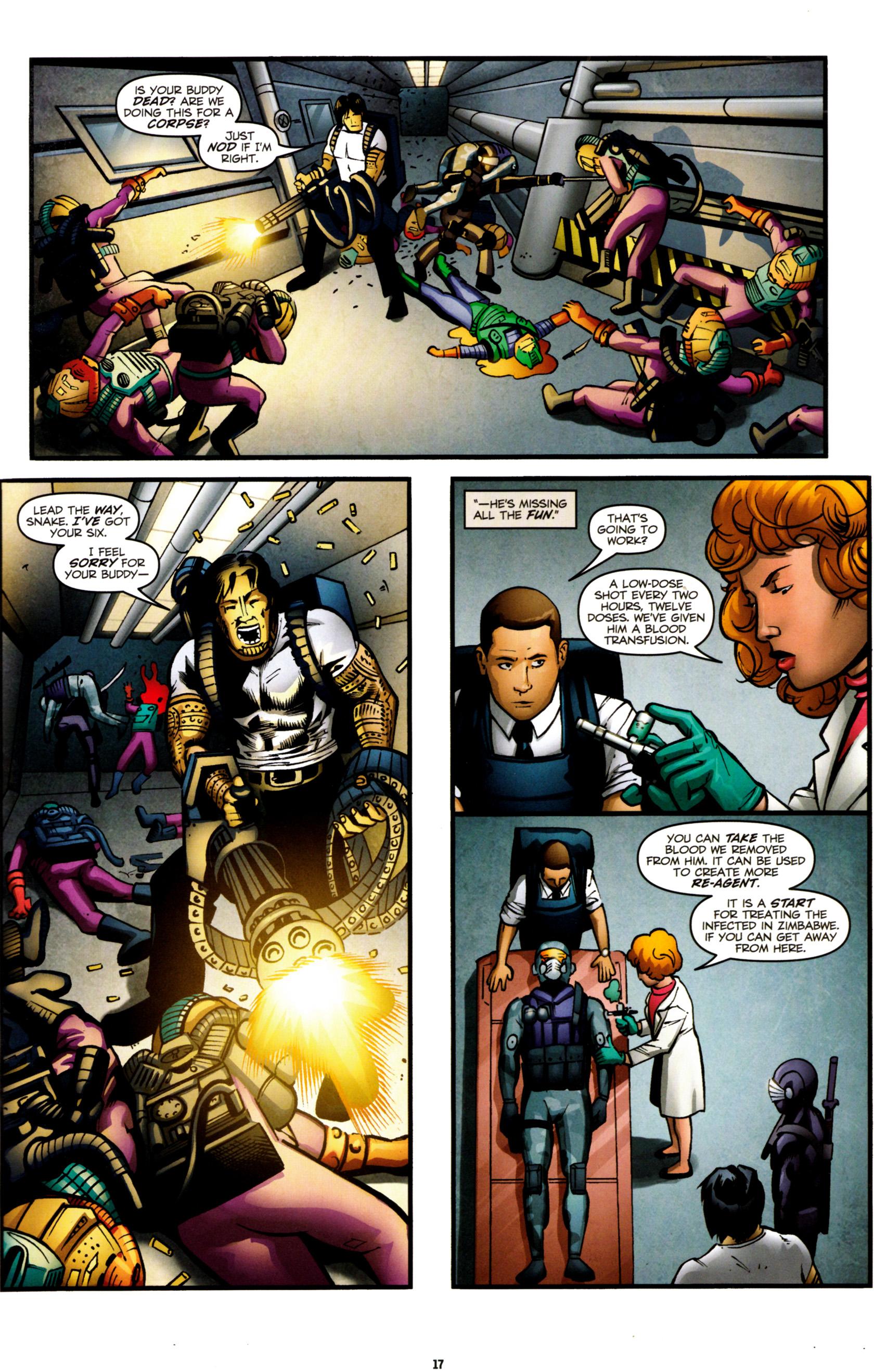 Read online G.I. Joe: Snake Eyes comic -  Issue #8 - 20