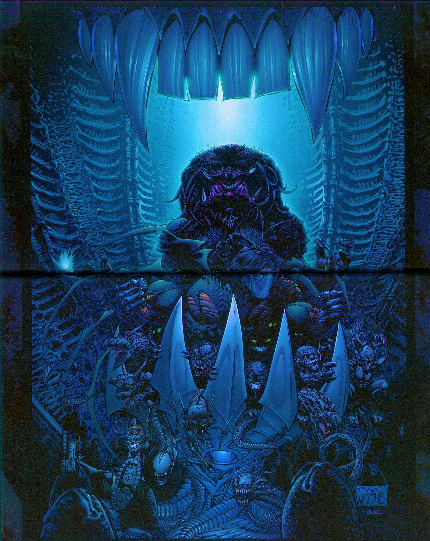 Read online Overkill: Witchblade/Aliens/Darkness/Predator comic -  Issue #2 - 37