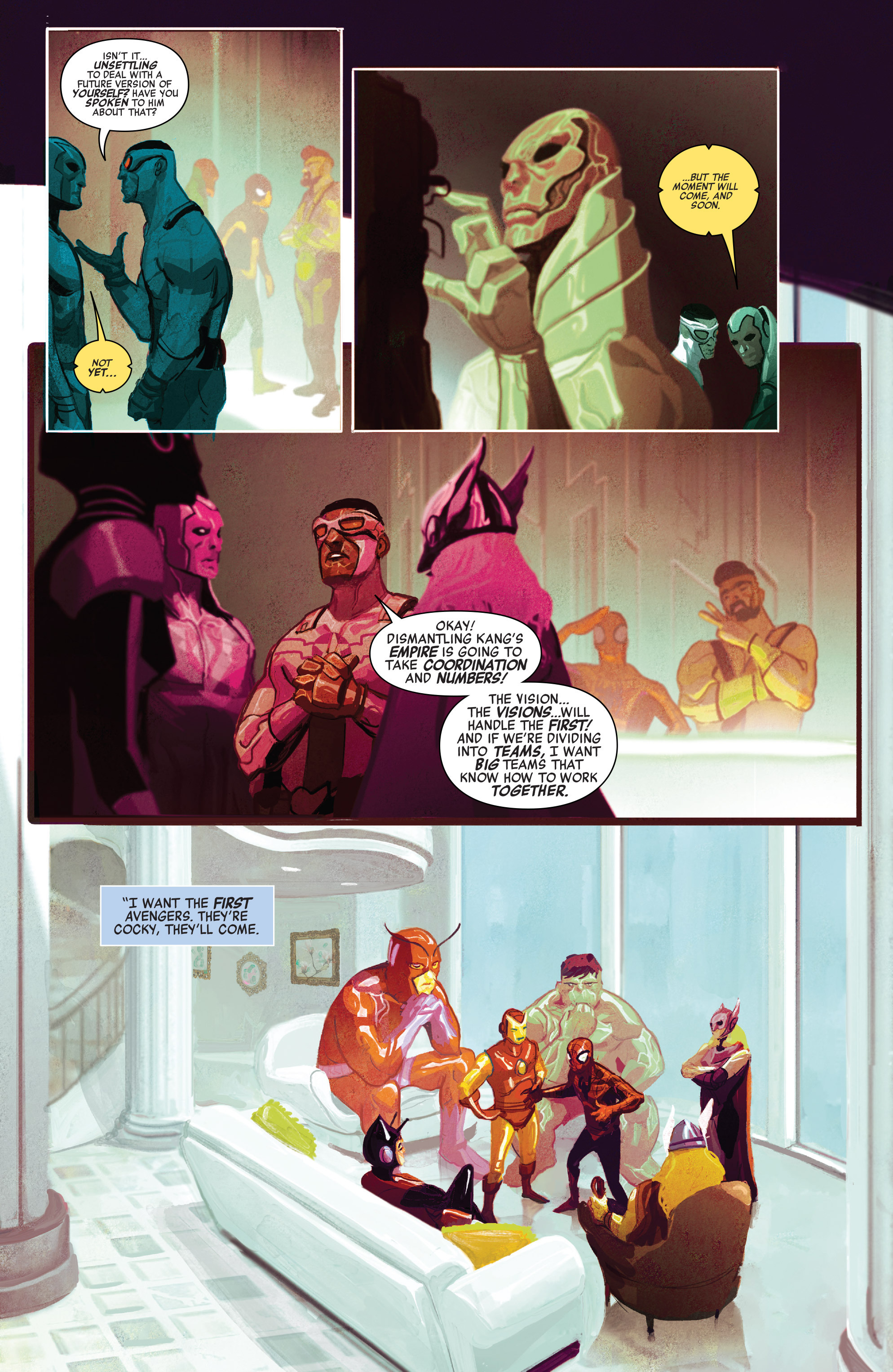 Read online Avengers (2016) comic -  Issue #5 - 9