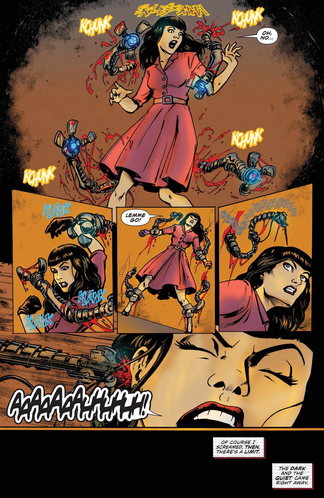 Read online Bettie Page: Unbound comic -  Issue #7 - 11