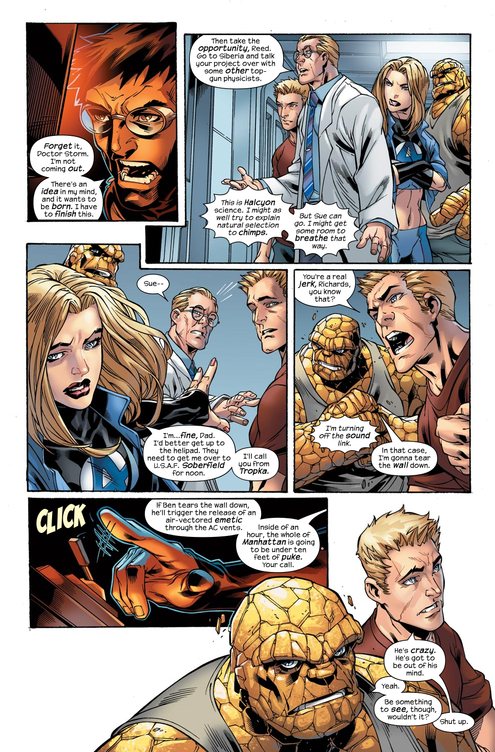 Read online Ultimate Fantastic Four (2004) comic -  Issue #47 - 12