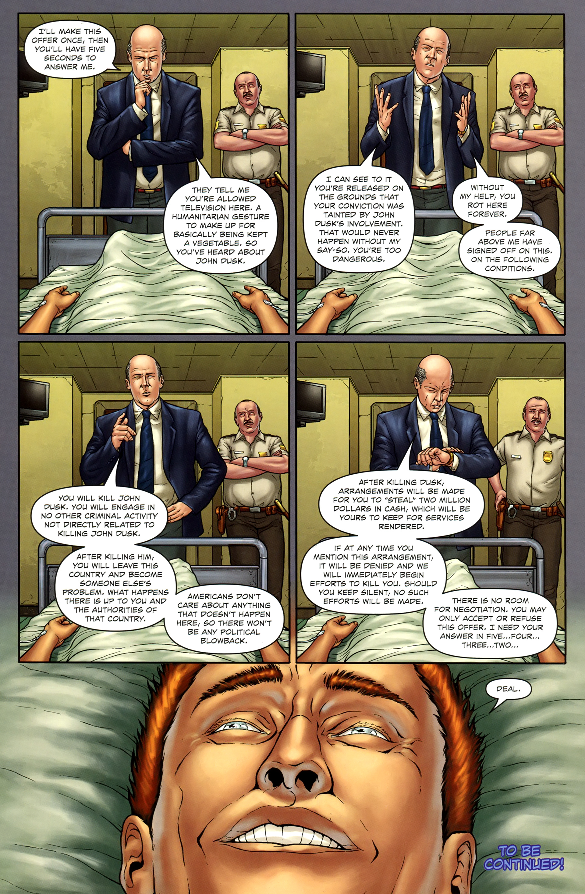 Read online Absolution: Rubicon comic -  Issue #1 - 28