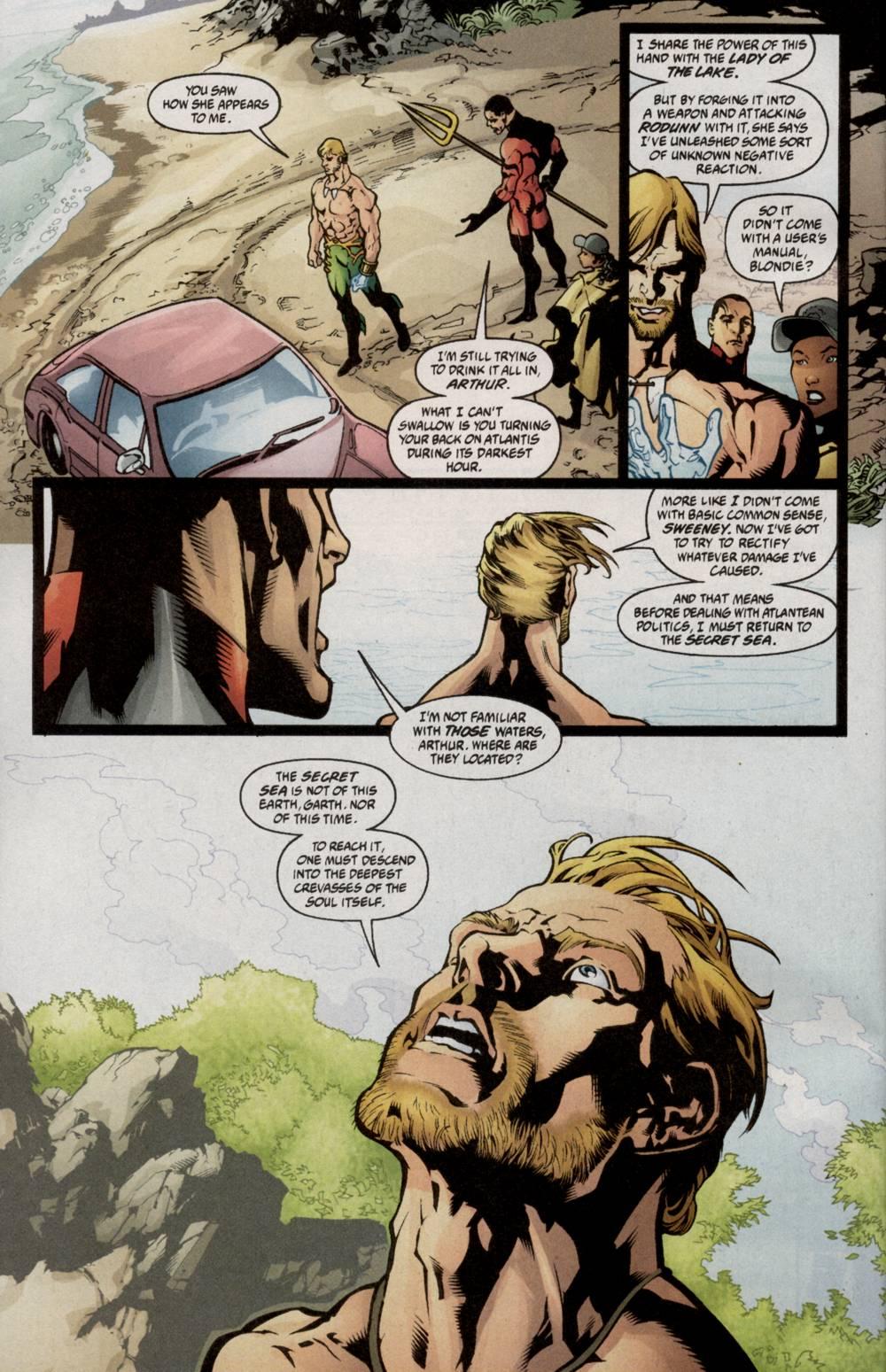 Read online Aquaman (2003) comic -  Issue #5 - 9