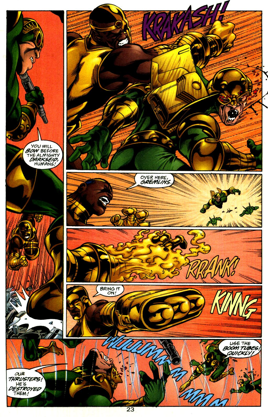 Read online The Flash: Our Worlds at War comic -  Issue # Full - 23