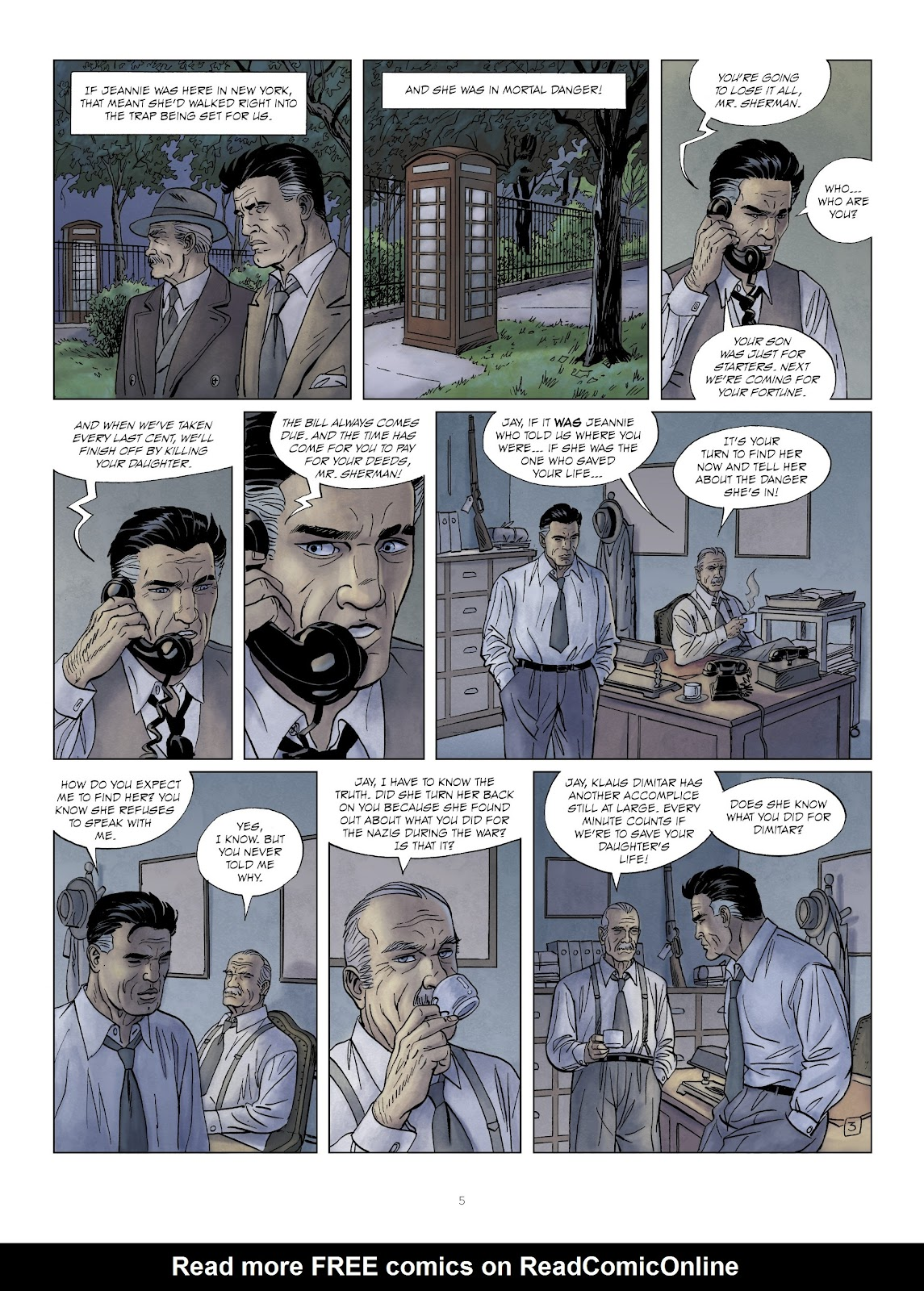 Read online Sherman comic -  Issue #6 - 5