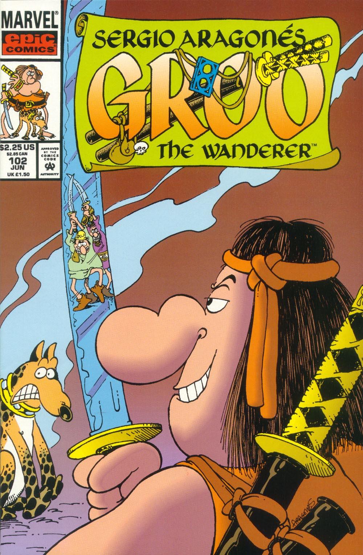 Read online Sergio Aragonés Groo the Wanderer comic -  Issue #102 - 1