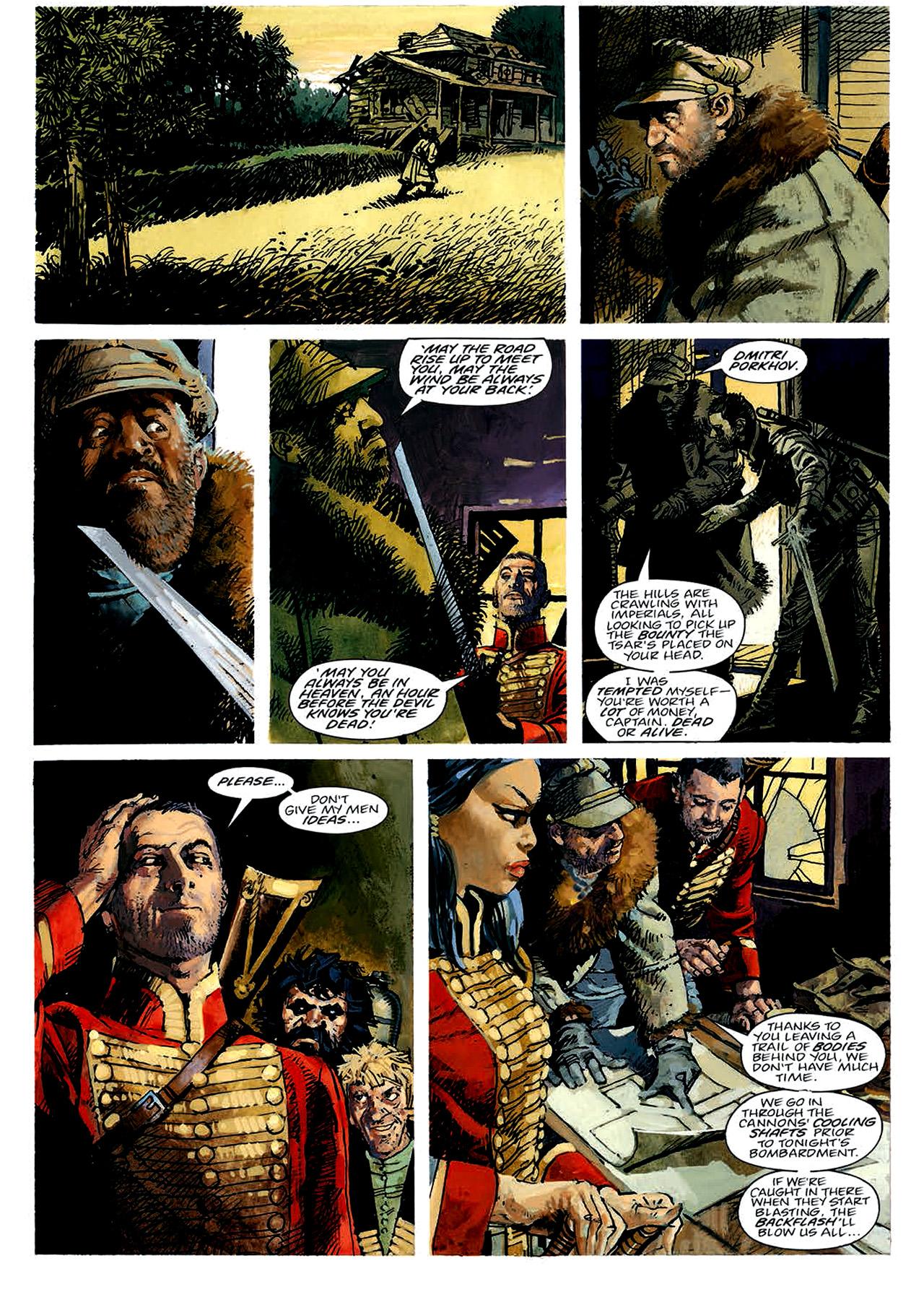 Read online Nikolai Dante comic -  Issue # TPB 4 - 32