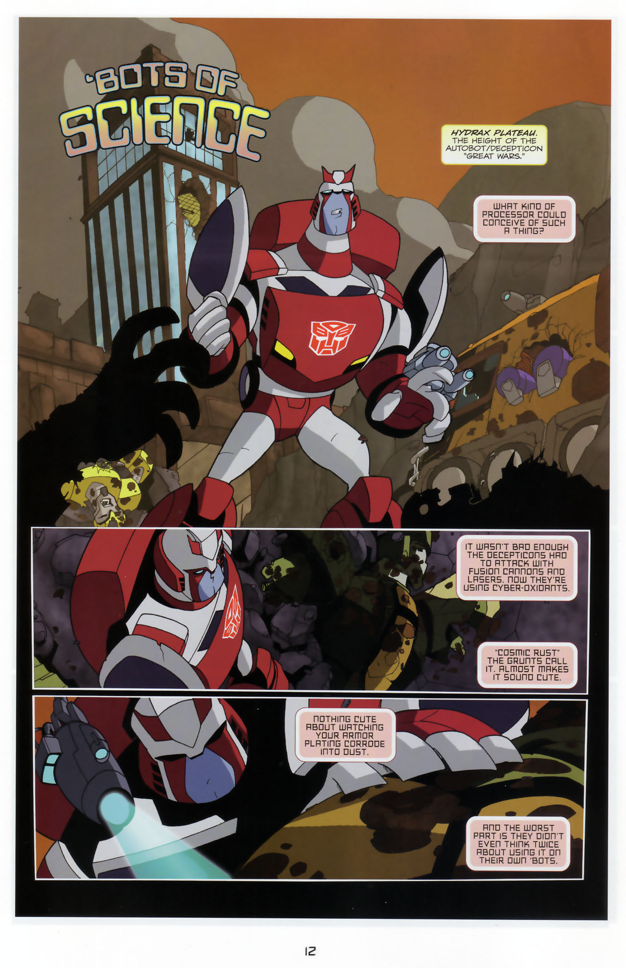 Read online Transformers Animated: The Arrival comic -  Issue #3 - 14