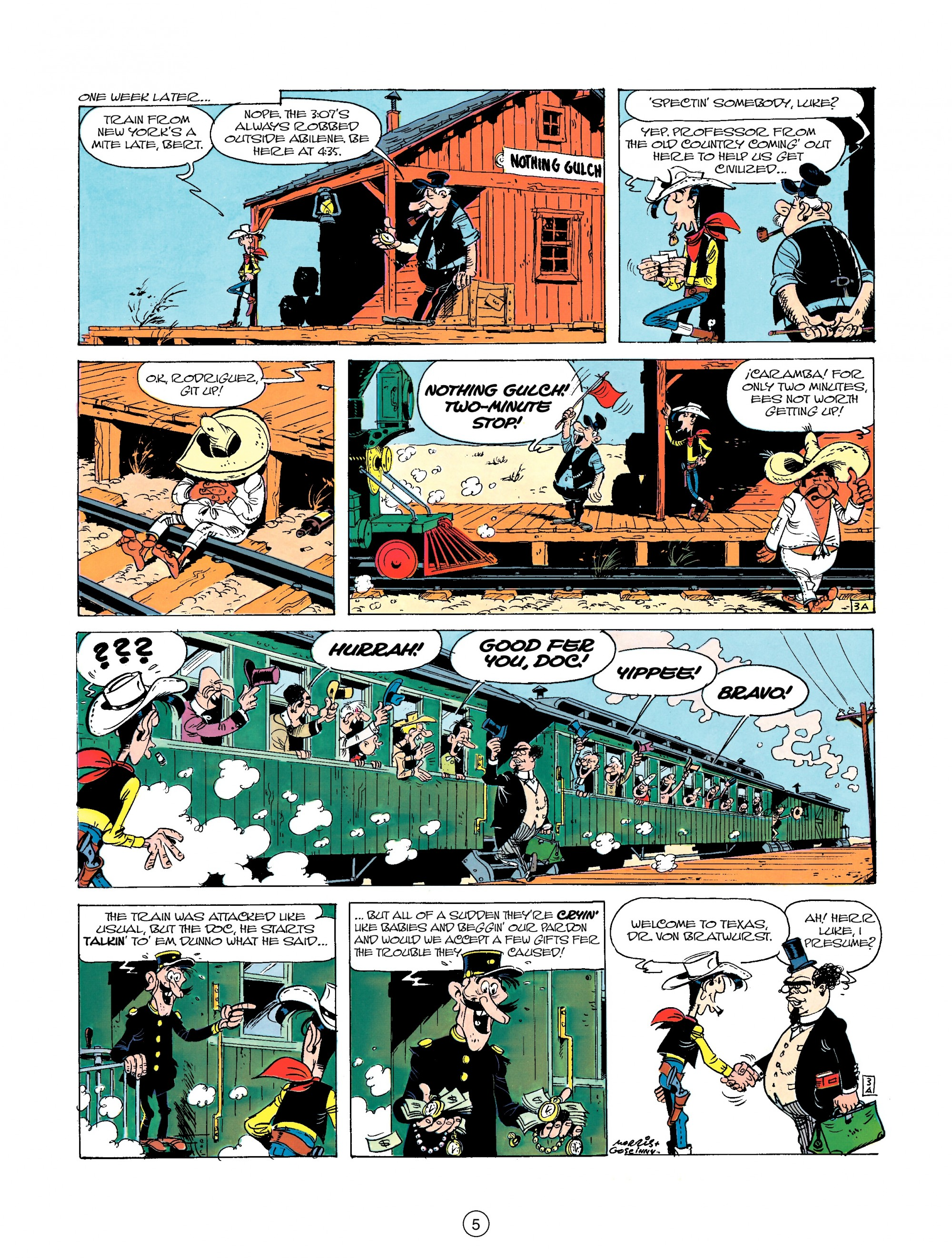 Read online A Lucky Luke Adventure comic -  Issue #23 - 5