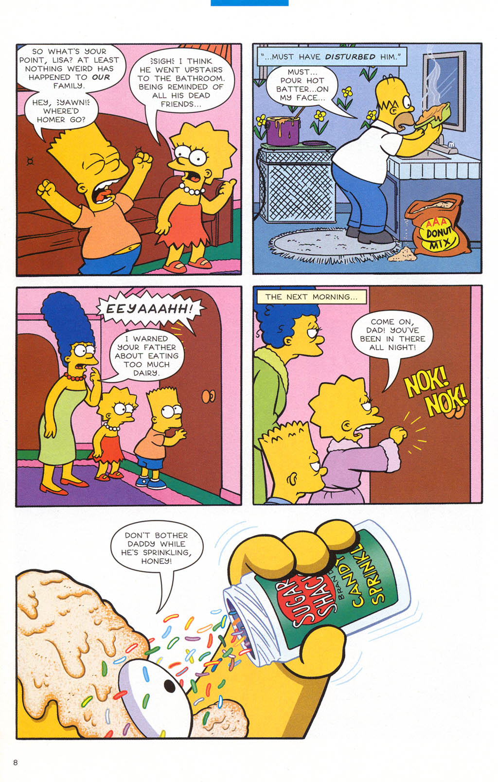 Read online Treehouse of Horror comic -  Issue #10 - 27