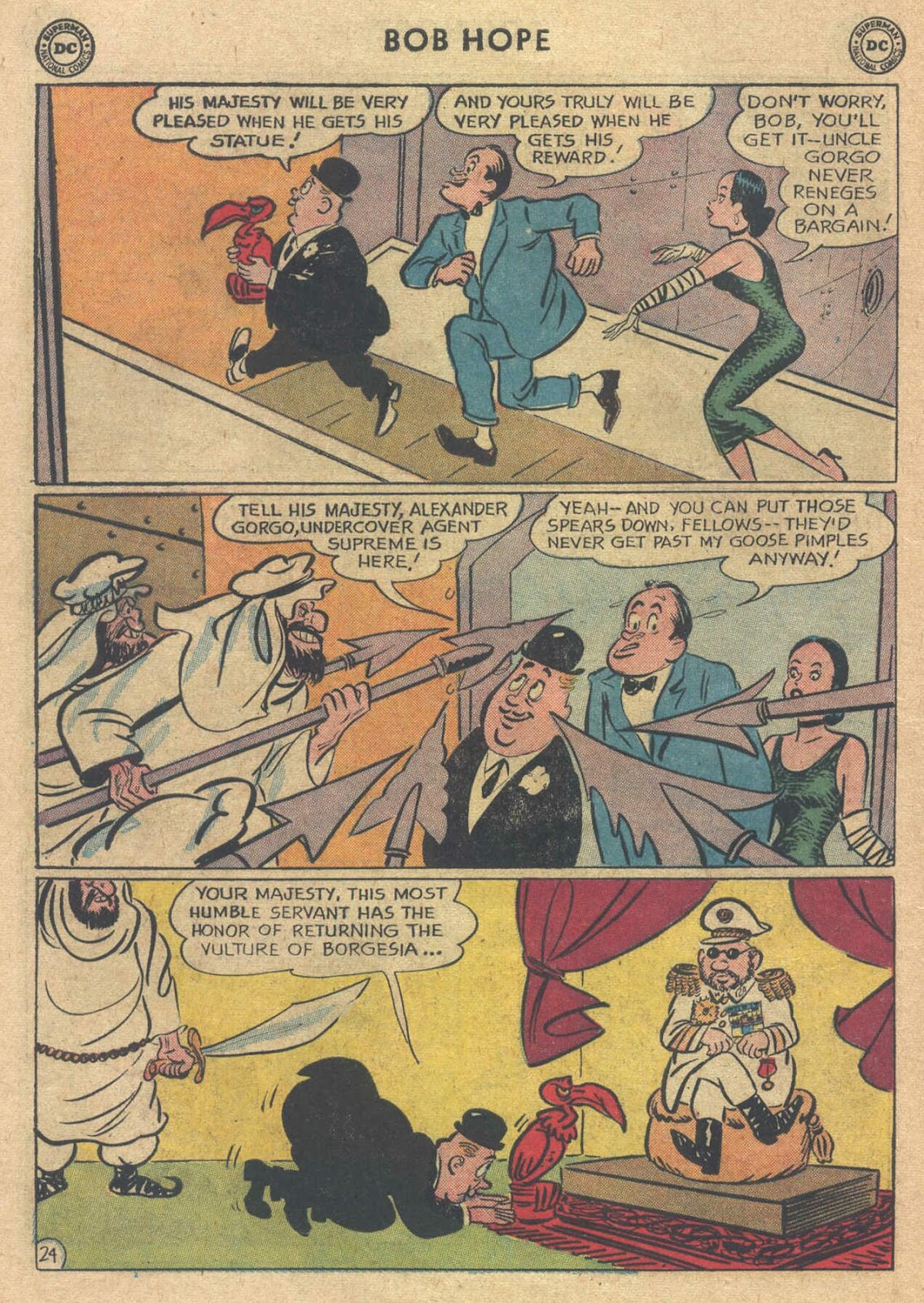 The Adventures of Bob Hope issue 76 - Page 30