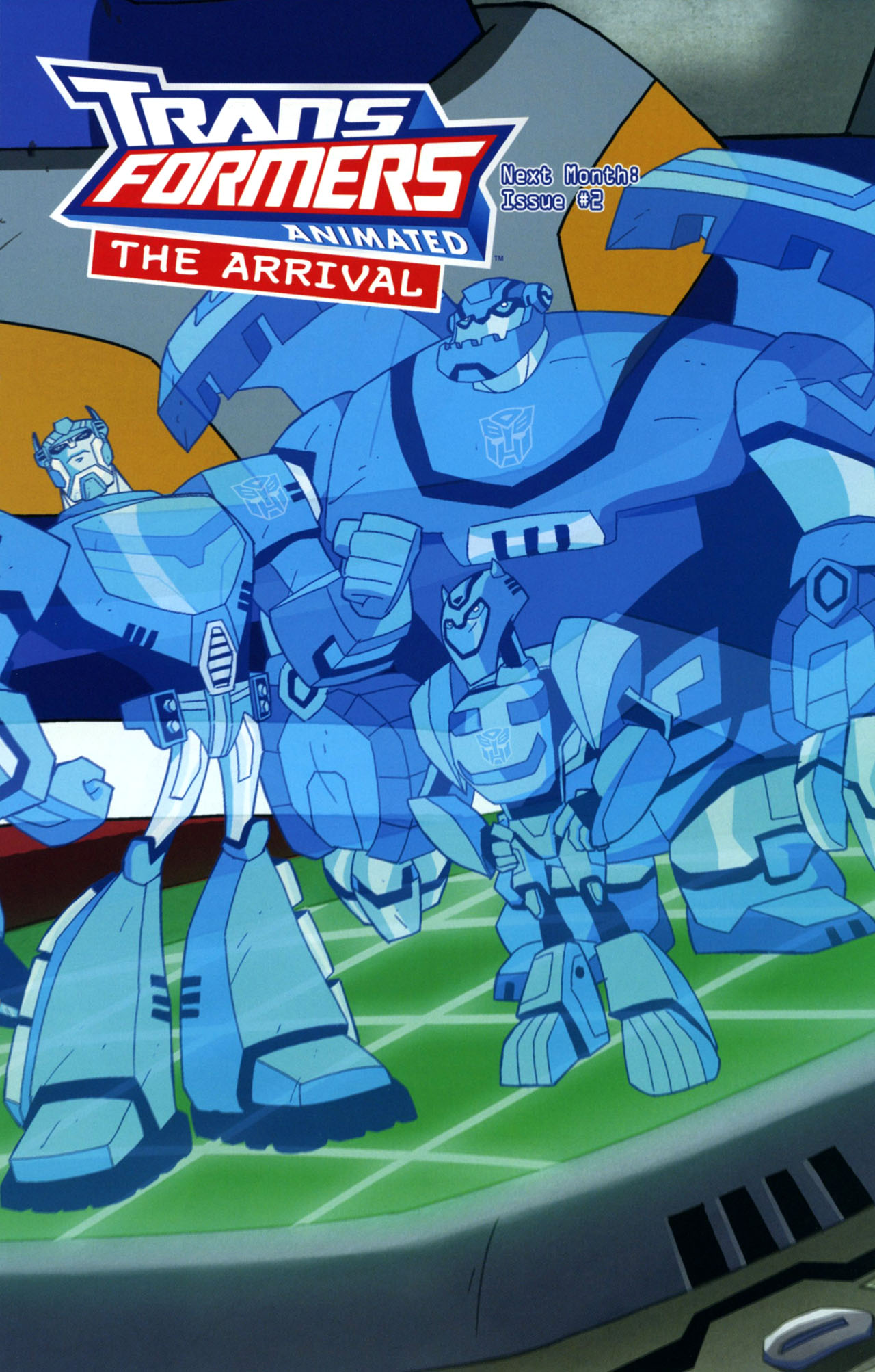 Read online Transformers Animated: The Arrival comic -  Issue #1 - 26