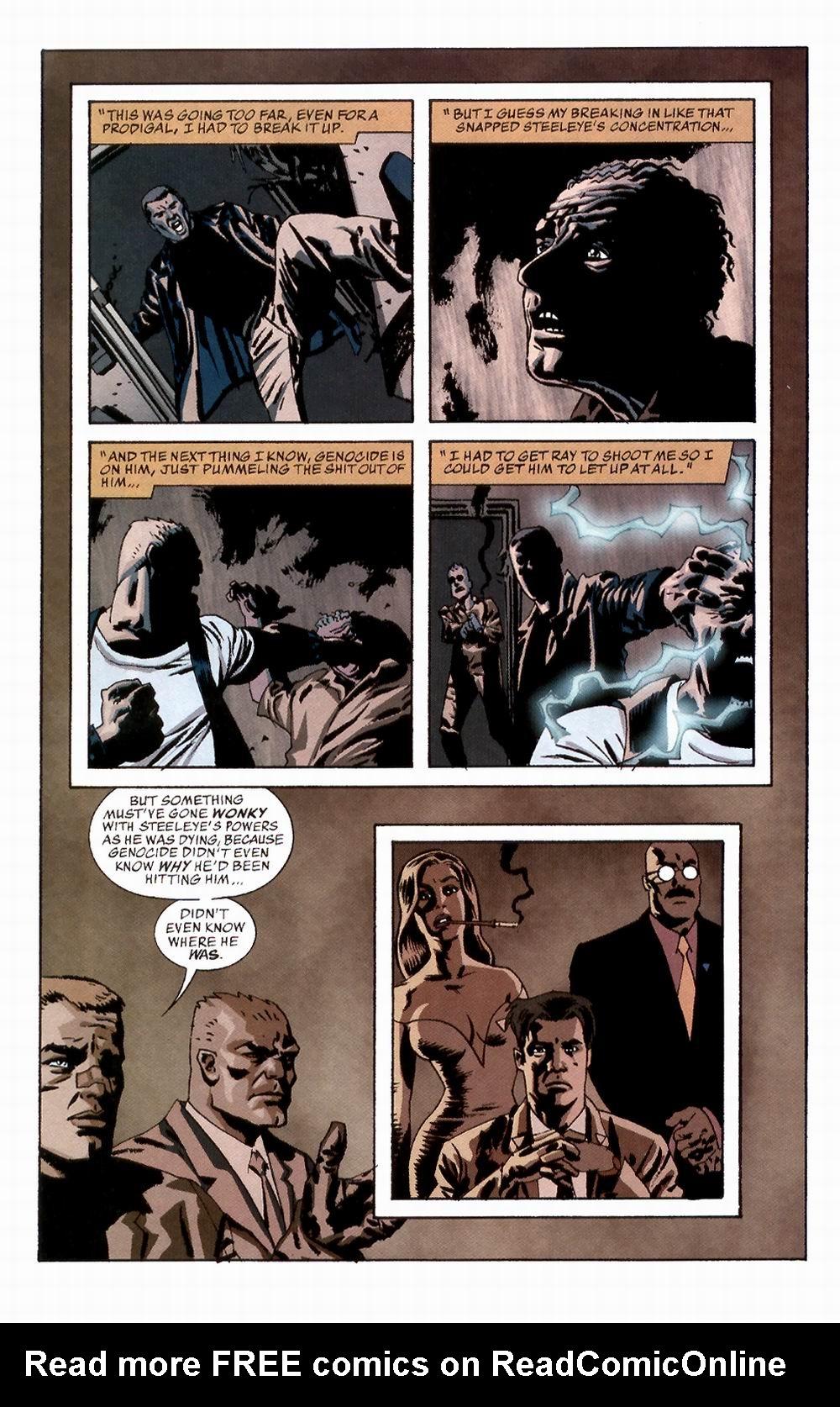 Read online Sleeper comic -  Issue #2 - 17