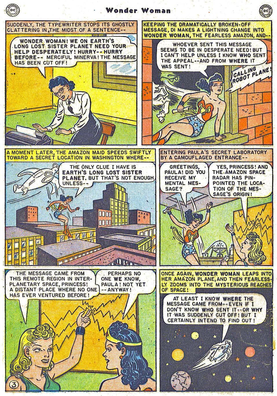 Read online Wonder Woman (1942) comic -  Issue #38 - 19
