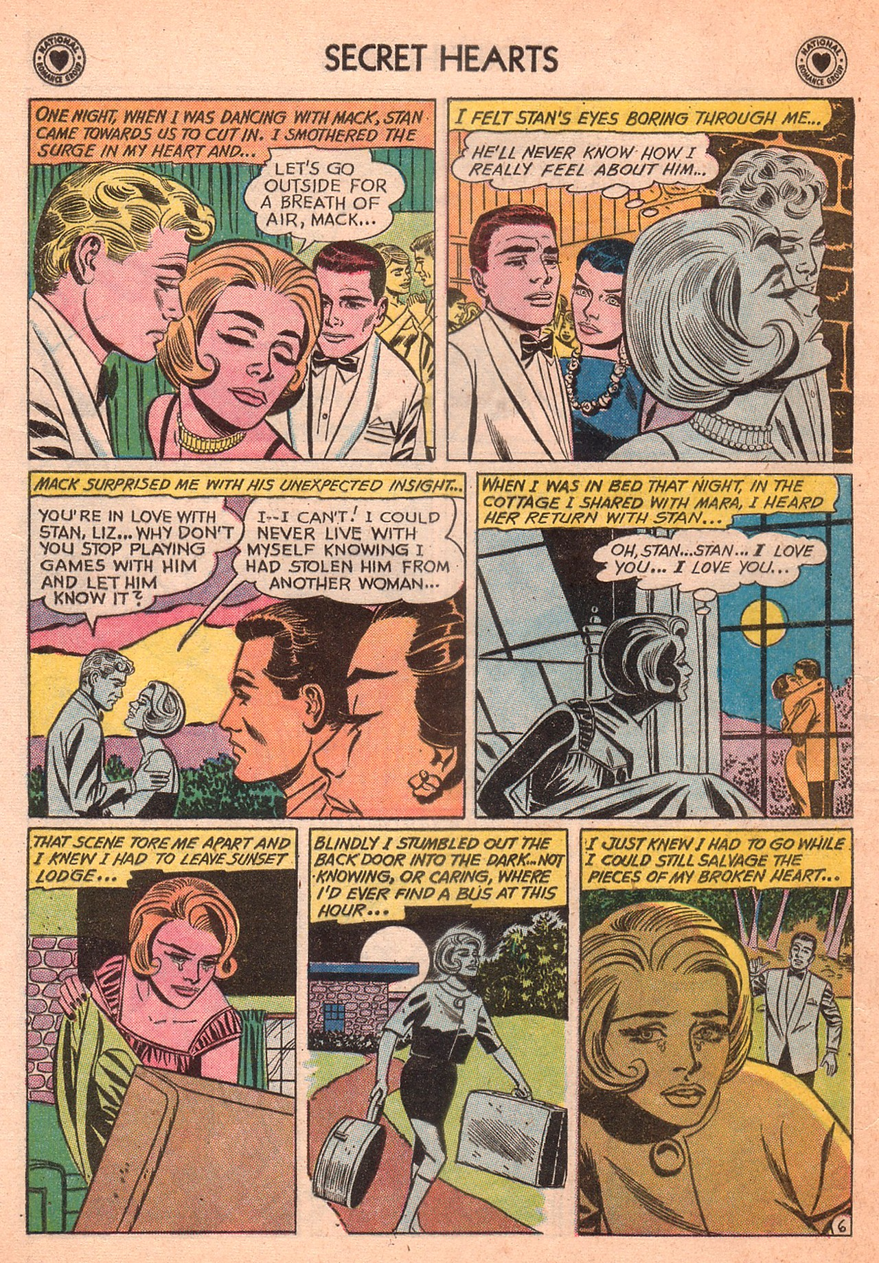 Read online Secret Hearts comic -  Issue #77 - 16