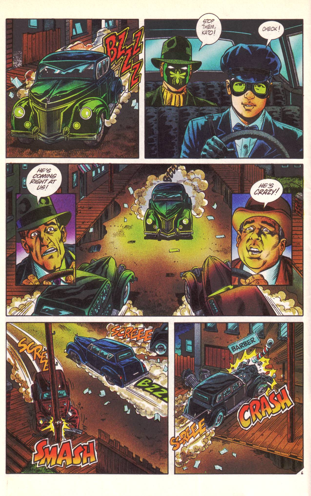 Read online Sting of The Green Hornet comic -  Issue #1 - 7