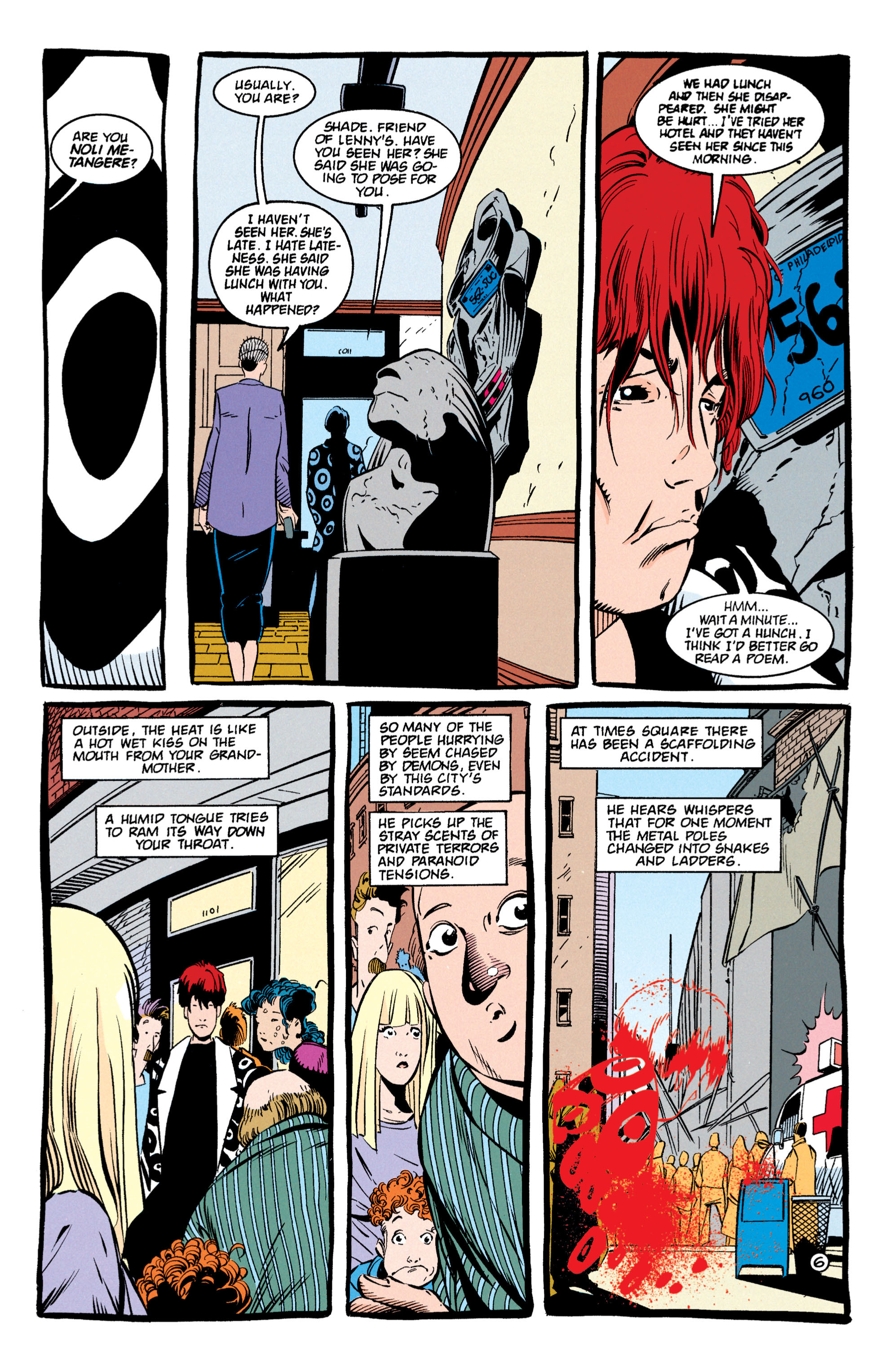 Read online Shade, the Changing Man comic -  Issue #59 - 7