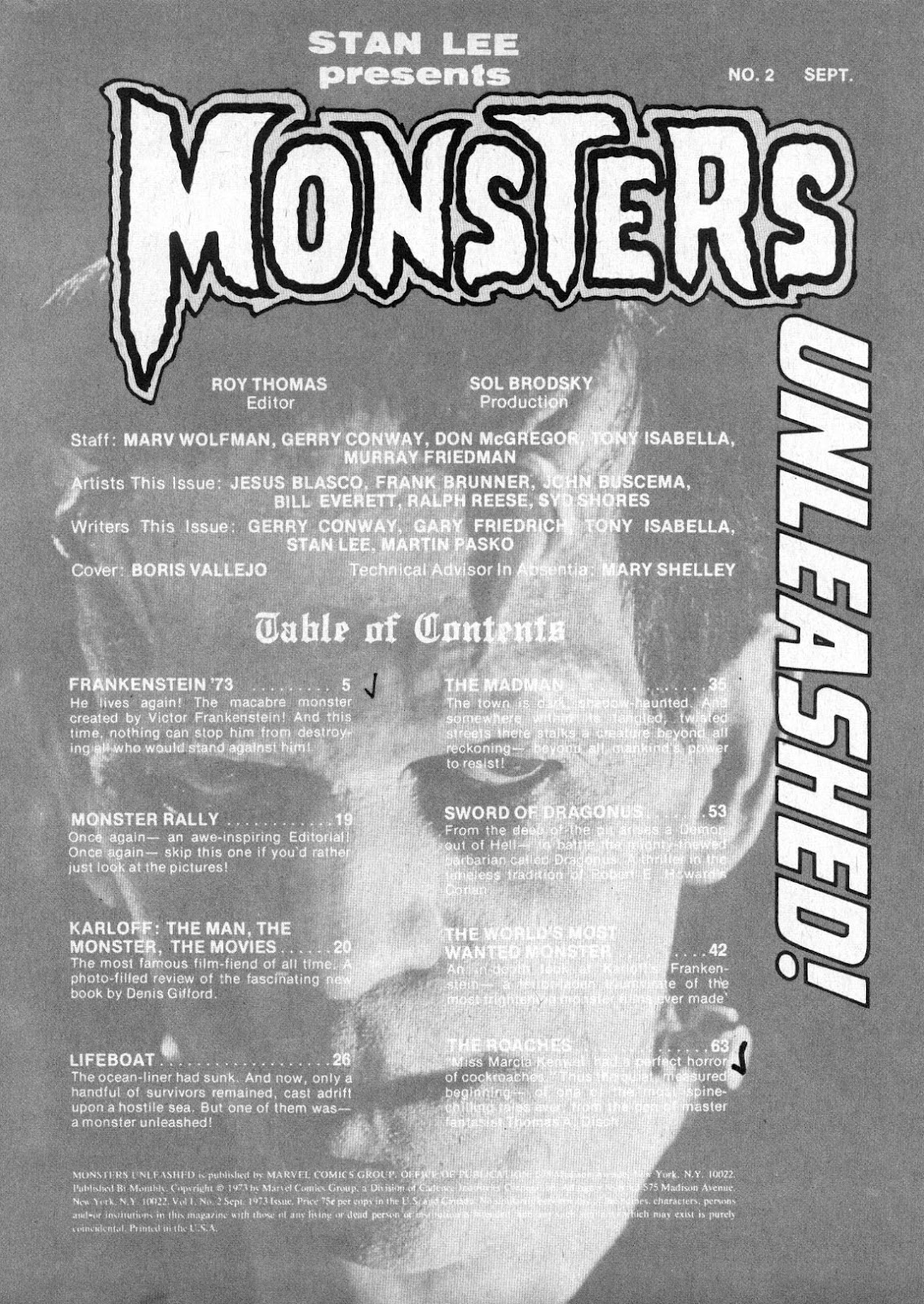 Monsters Unleashed (1973) issue 2 - Page 4