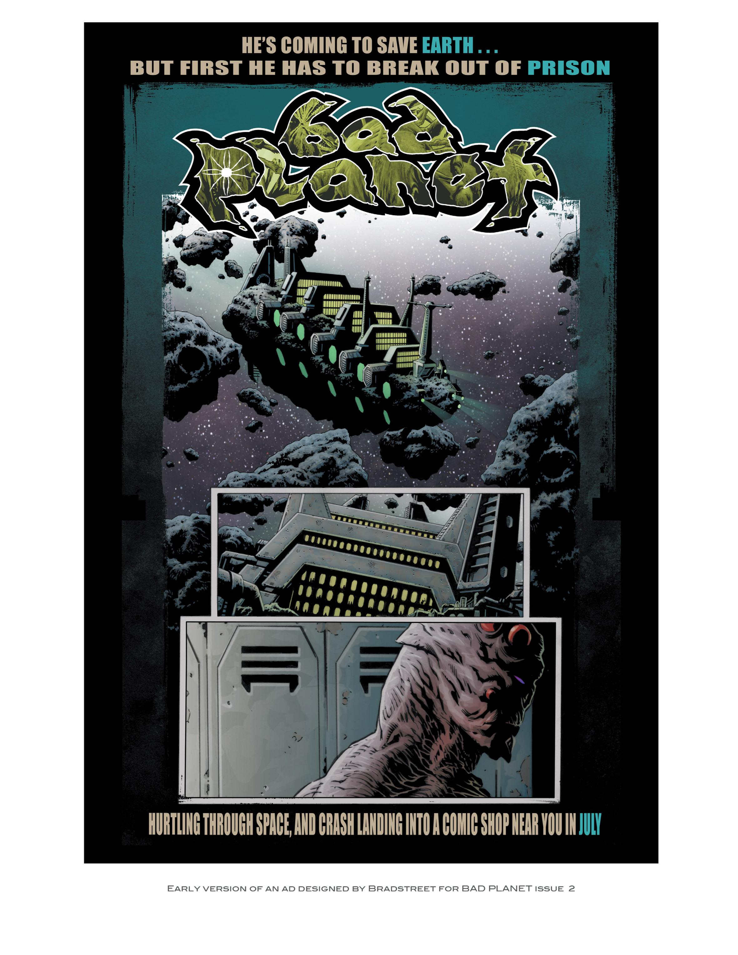 Read online Bad Planet comic -  Issue # TPB - 172