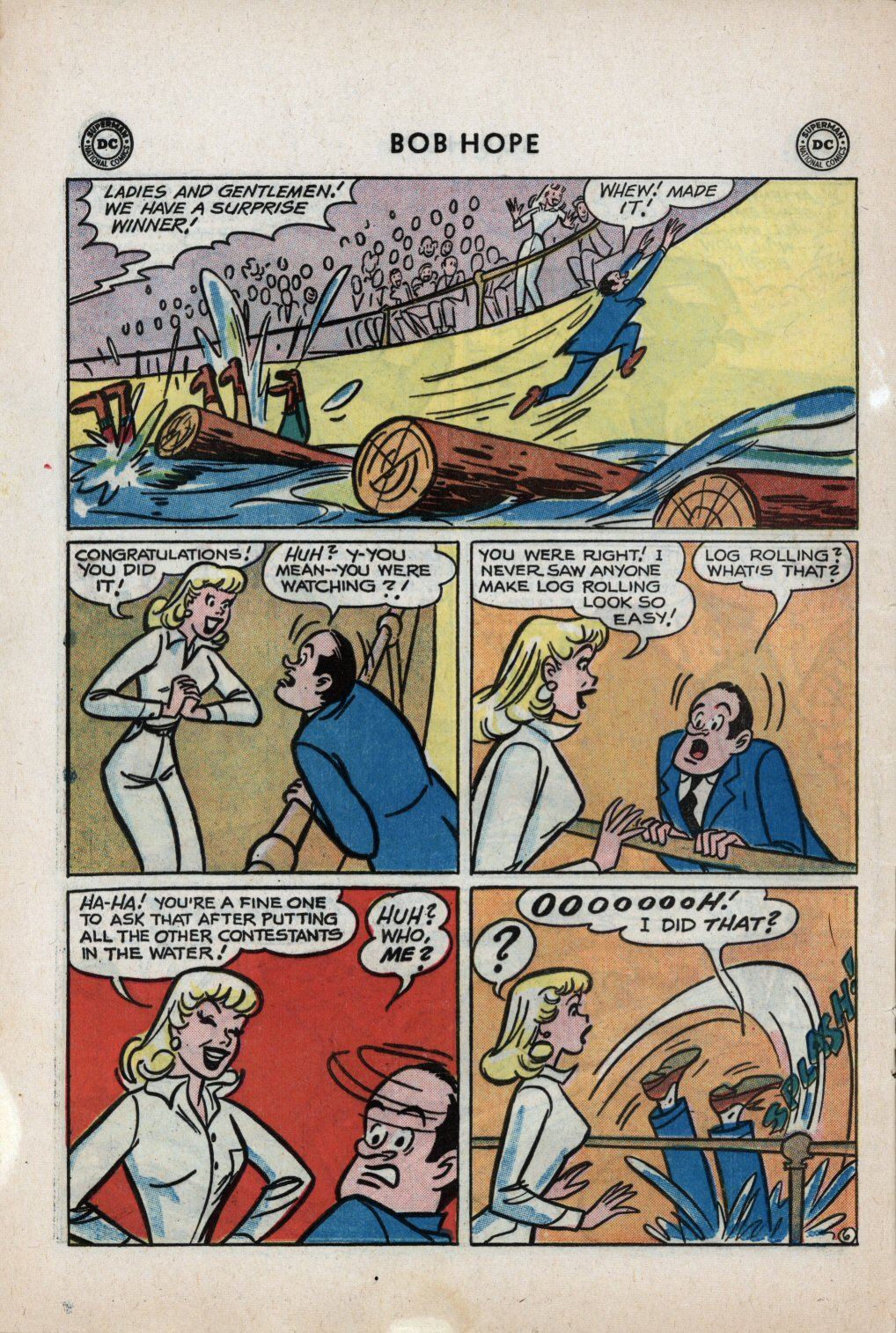 The Adventures of Bob Hope issue 59 - Page 8