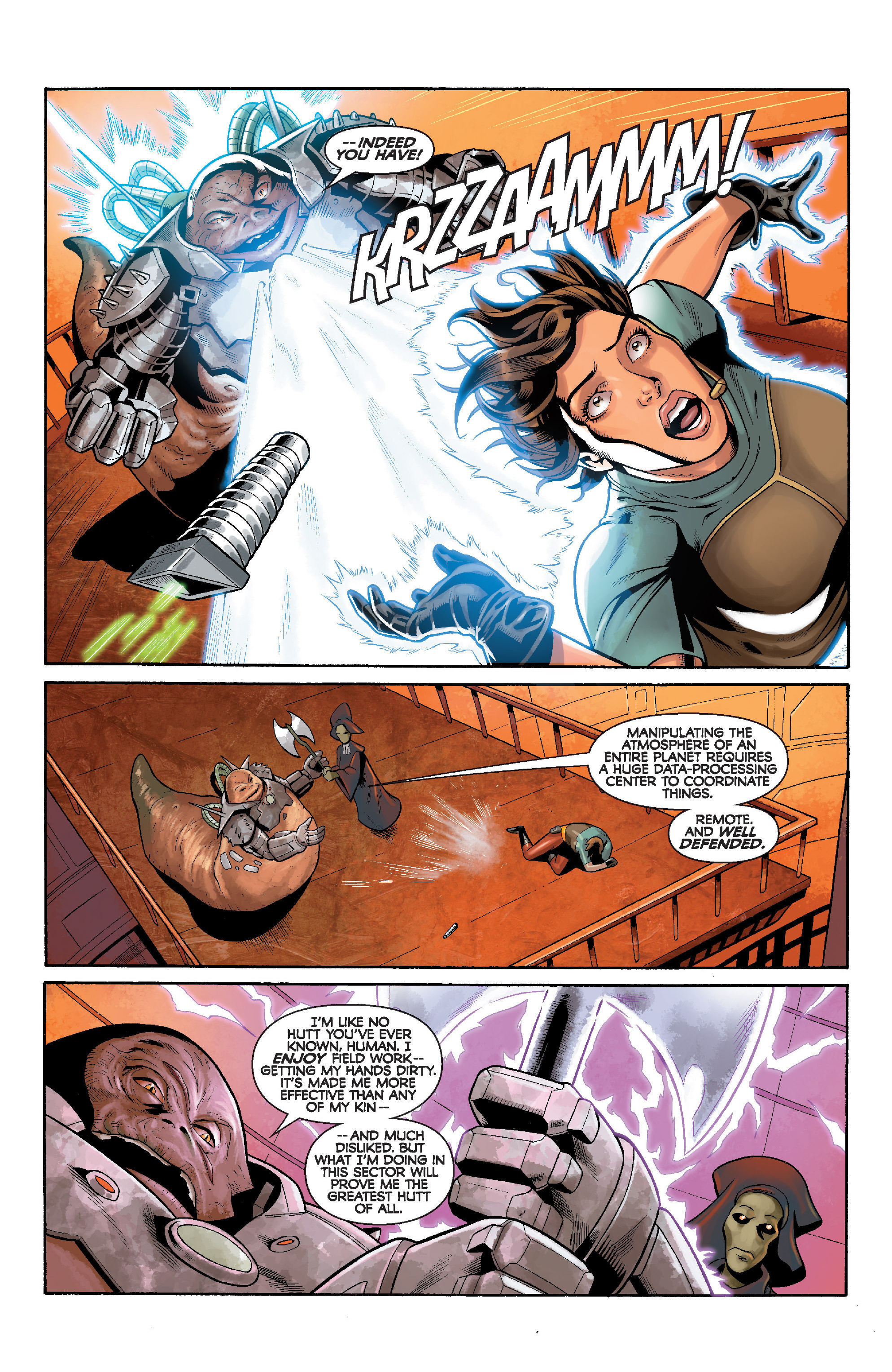 Read online Star Wars: Knight Errant - Deluge comic -  Issue #5 - 12