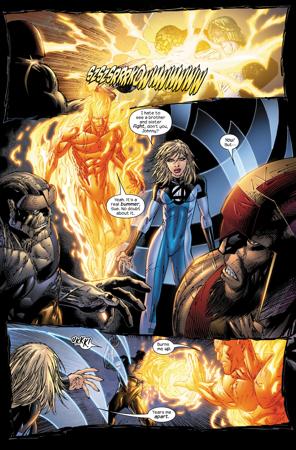 Read online Ultimate Fantastic Four (2004) comic -  Issue #53 - 15