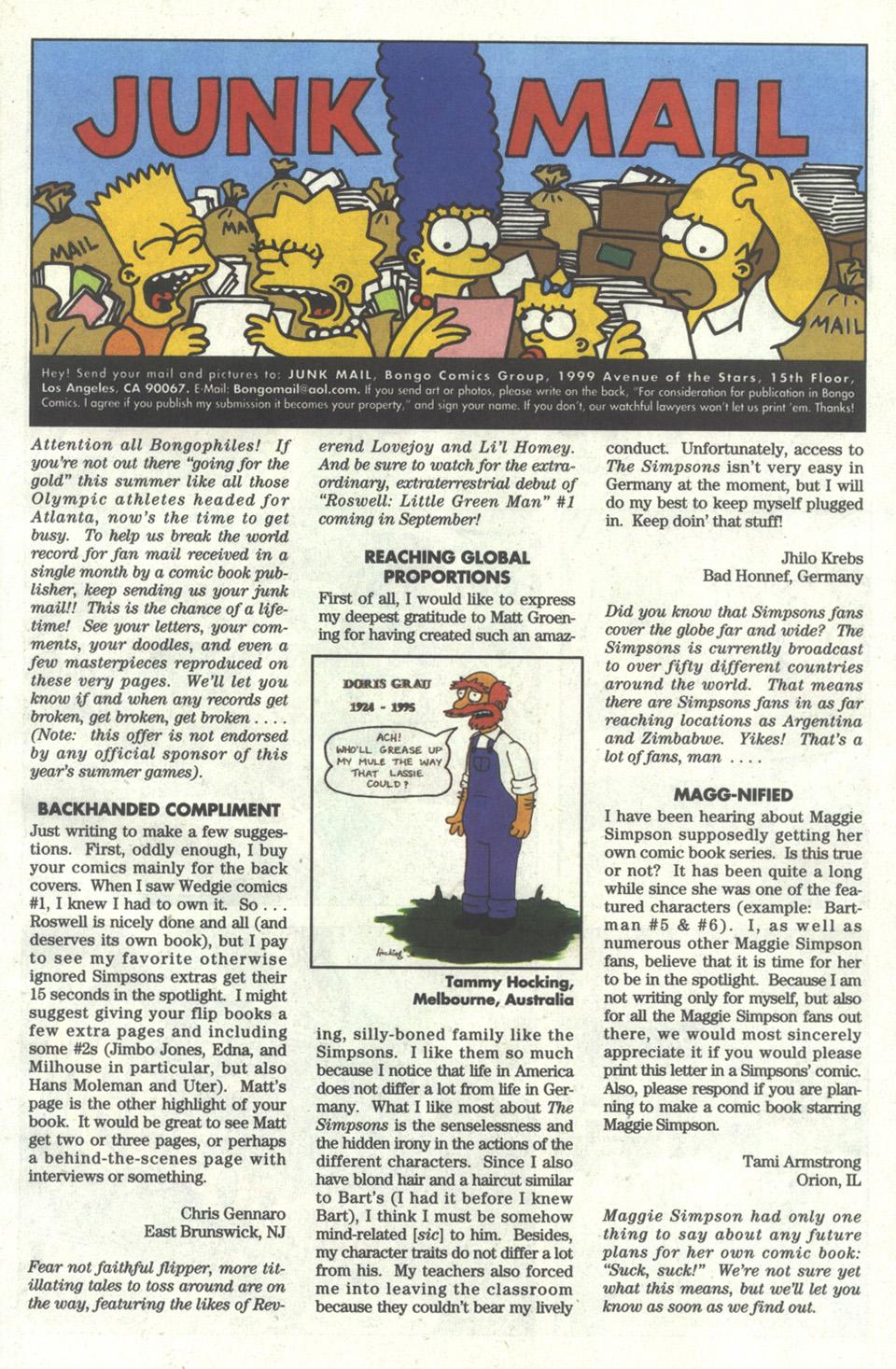 Read online Simpsons Comics comic -  Issue #22 - 24