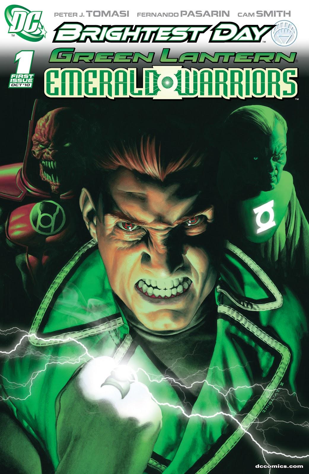 Green Lantern: Emerald Warriors 1 Page 1