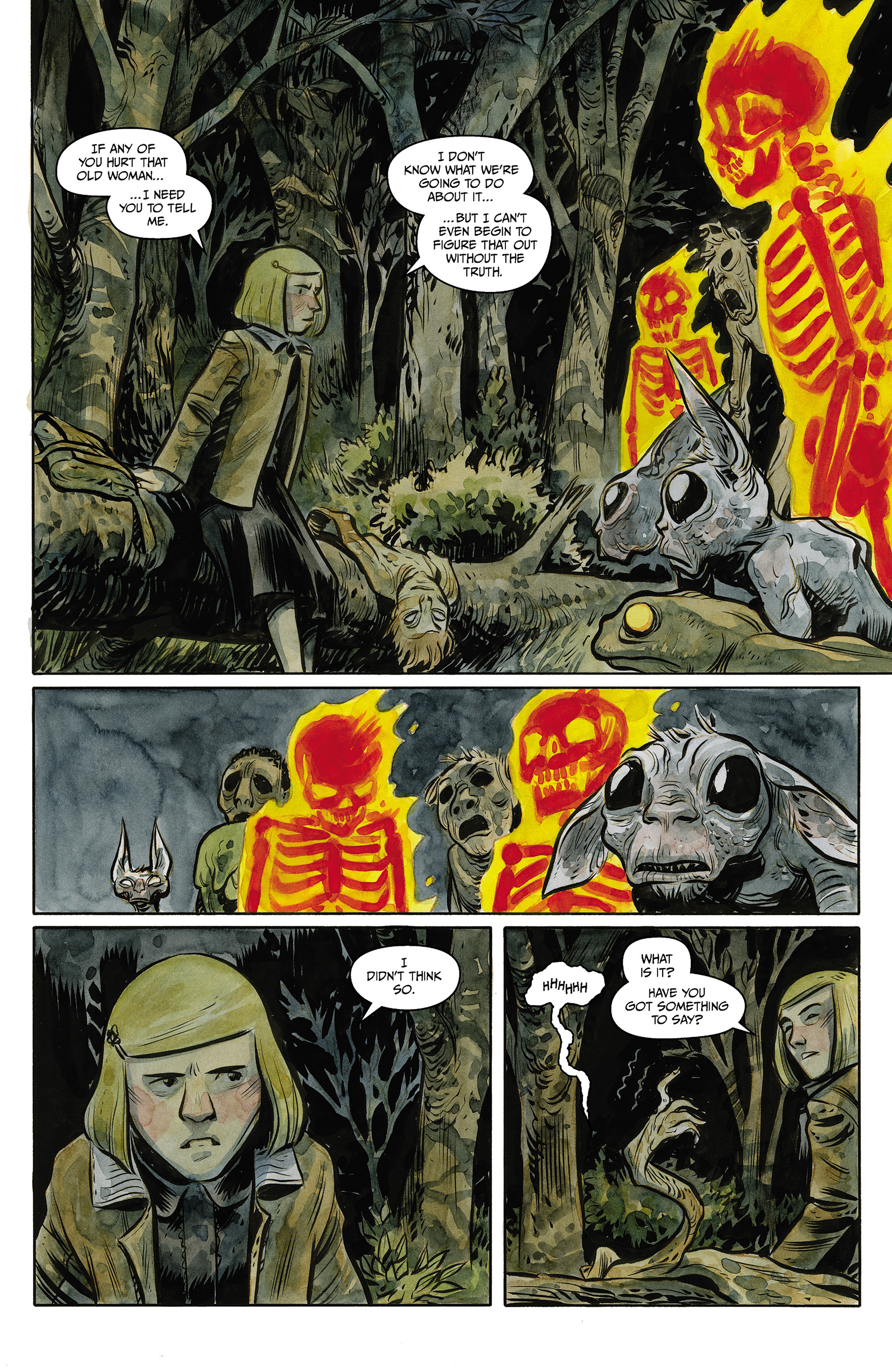 Read online Harrow County comic -  Issue #23 - 20