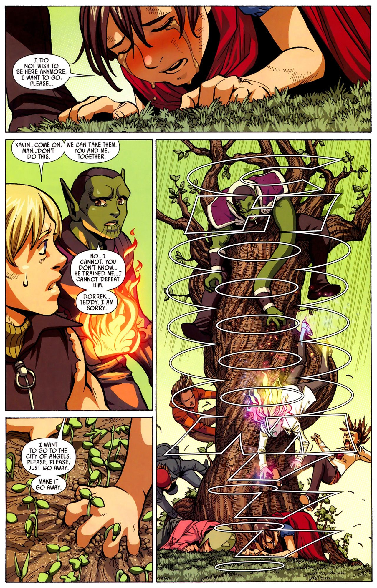 Read online Secret Invasion: Runaways/Young Avengers comic -  Issue #3 - 11