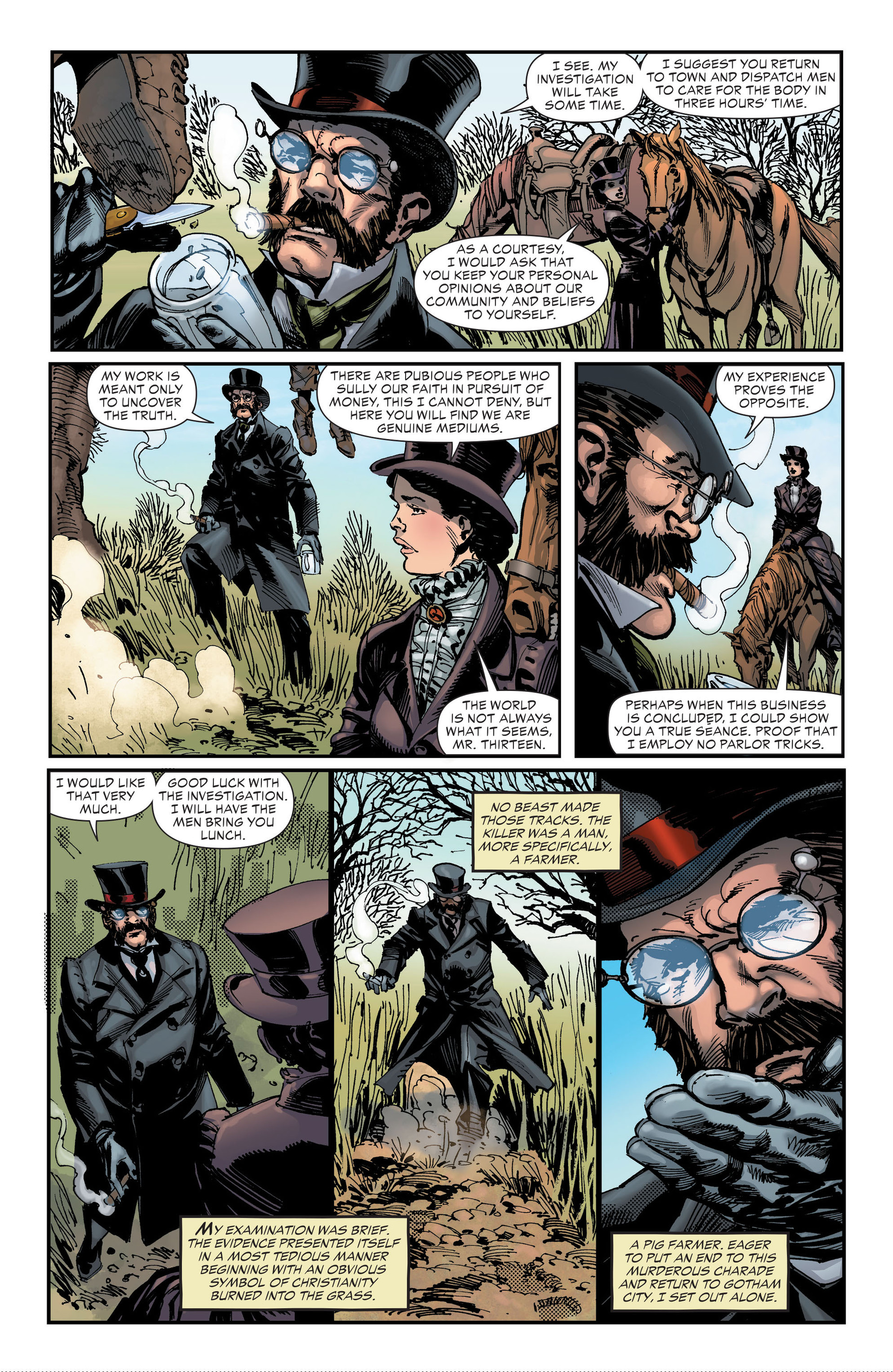 Read online All-Star Western (2011) comic -  Issue #18 - 26