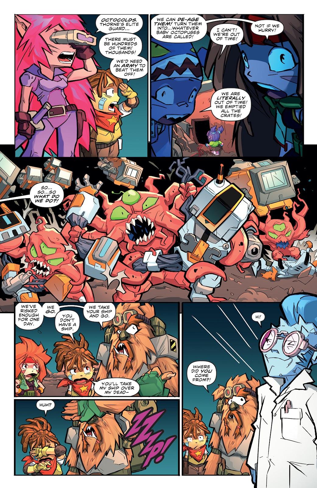 Read online Starcadia Quest comic -  Issue #3 - 19