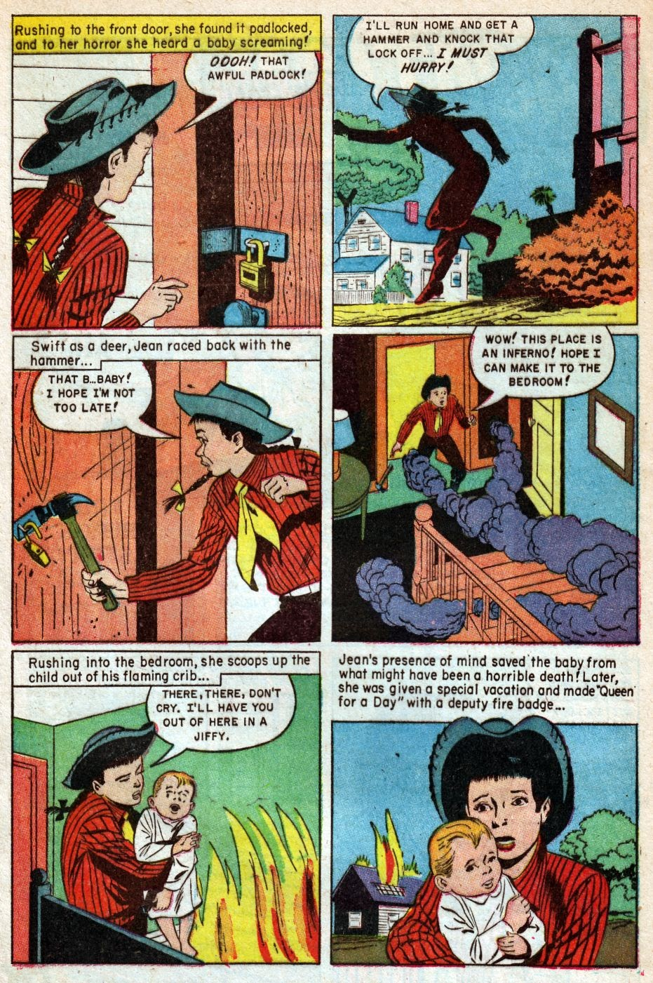 Read online Famous Funnies comic -  Issue #216 - 28