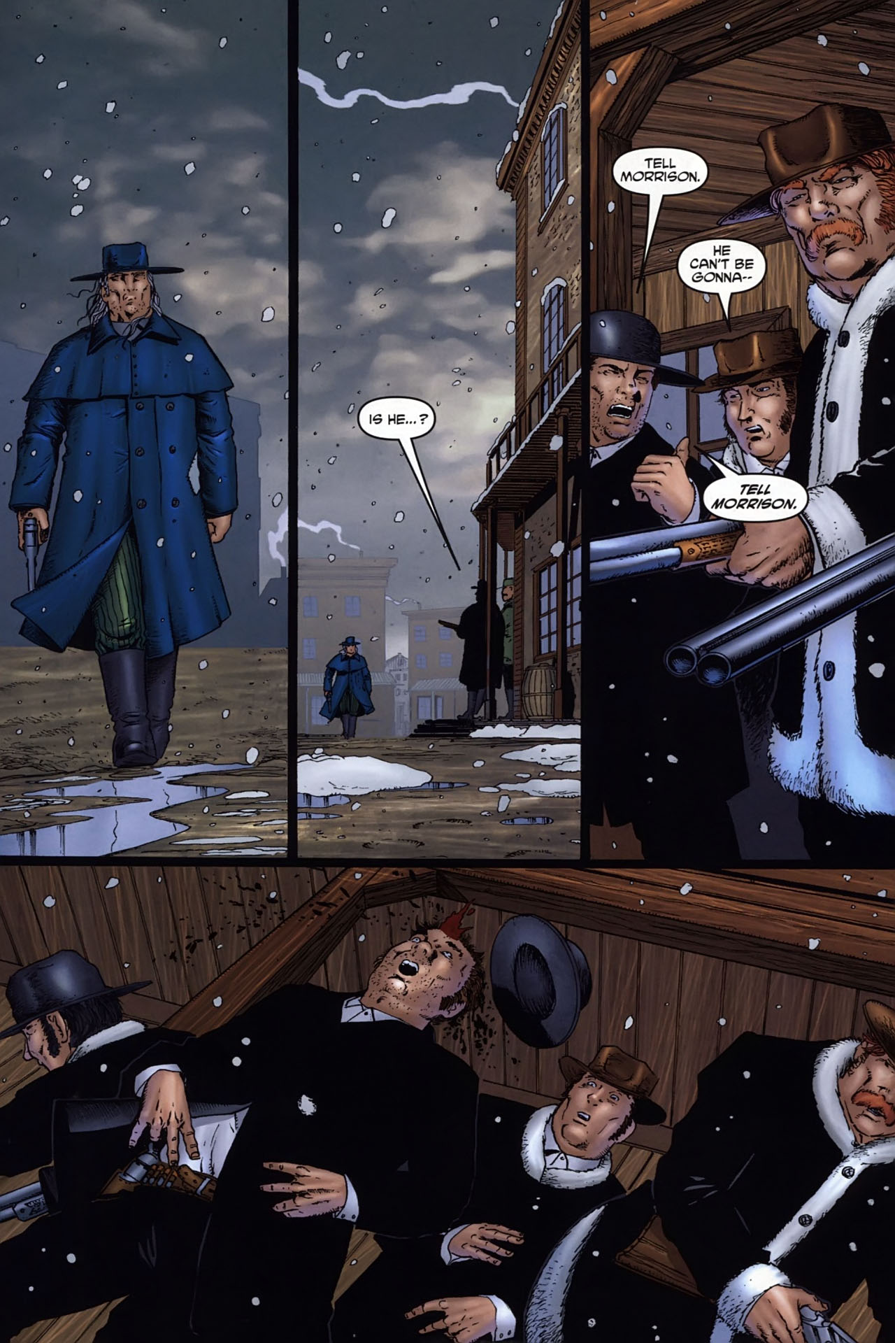 Read online Garth Ennis' Streets of Glory comic -  Issue #6 - 18