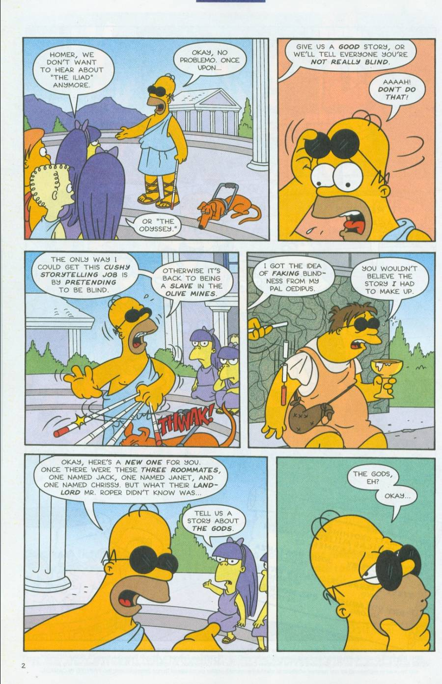 Read online Simpsons Comics comic -  Issue #70 - 3
