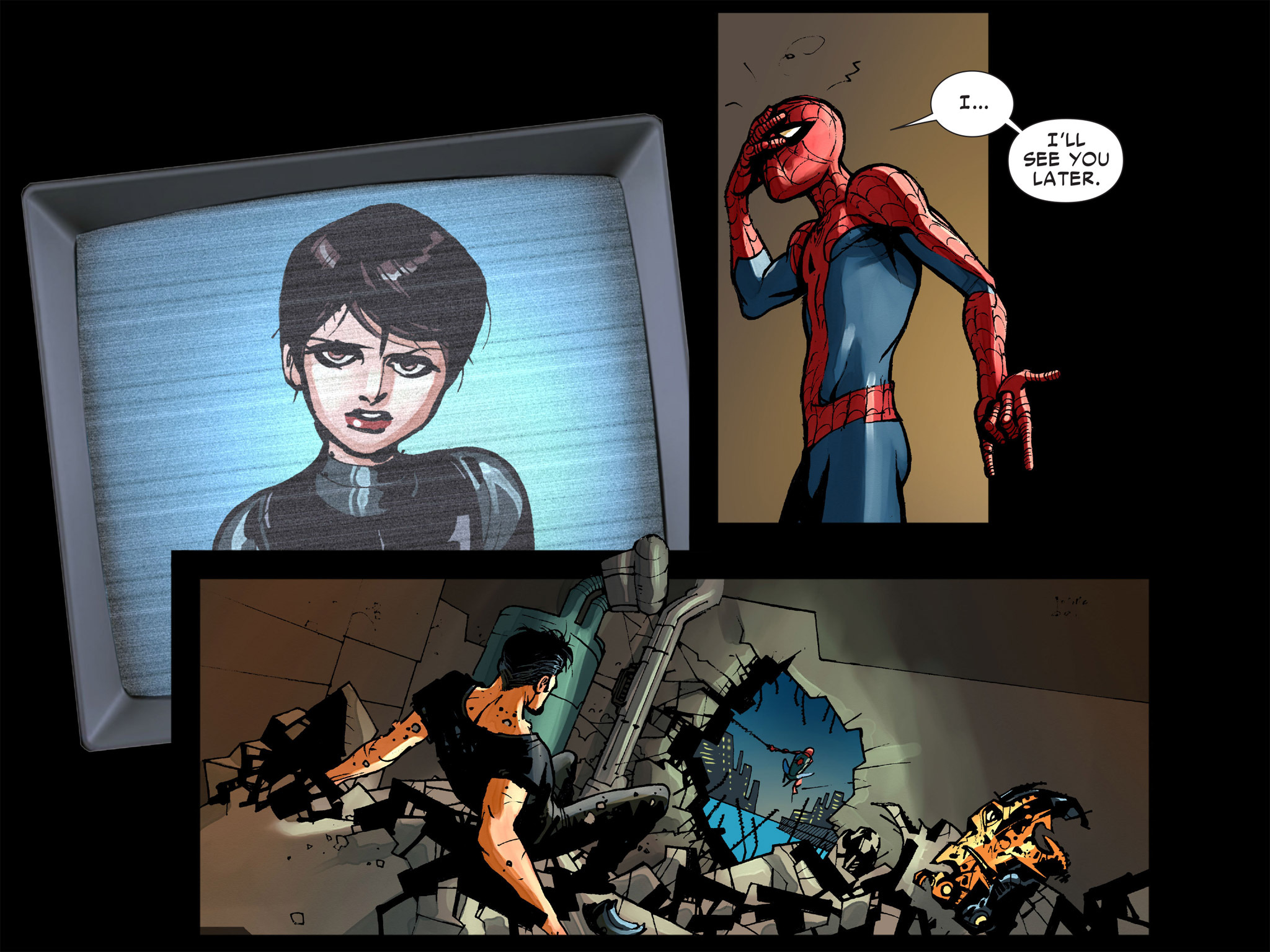 Read online Amazing Spider-Man: Who Am I? comic -  Issue # Full (Part 1) - 185