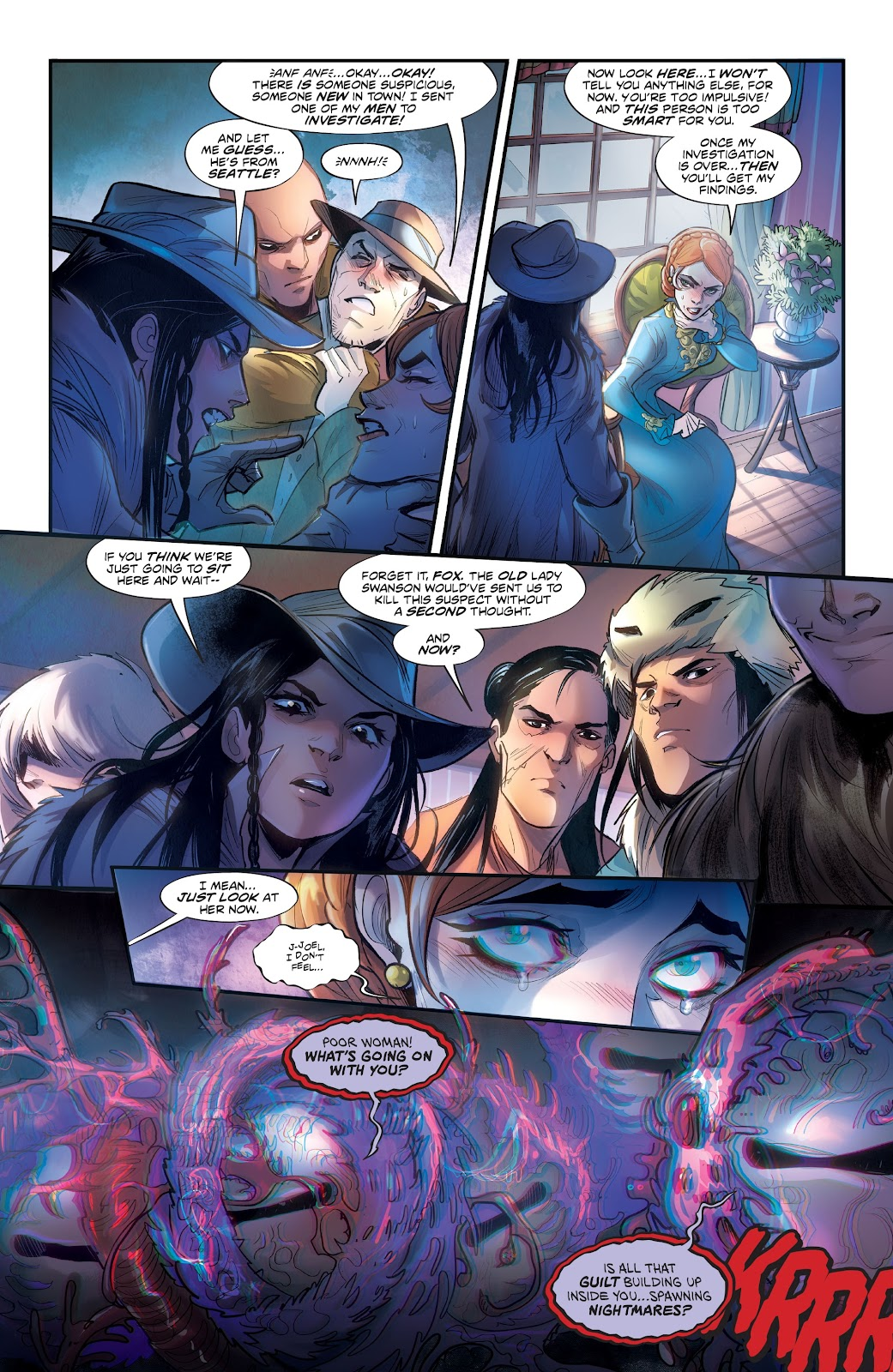 Read online Mirka Andolfo's Mercy comic -  Issue #3 - 13