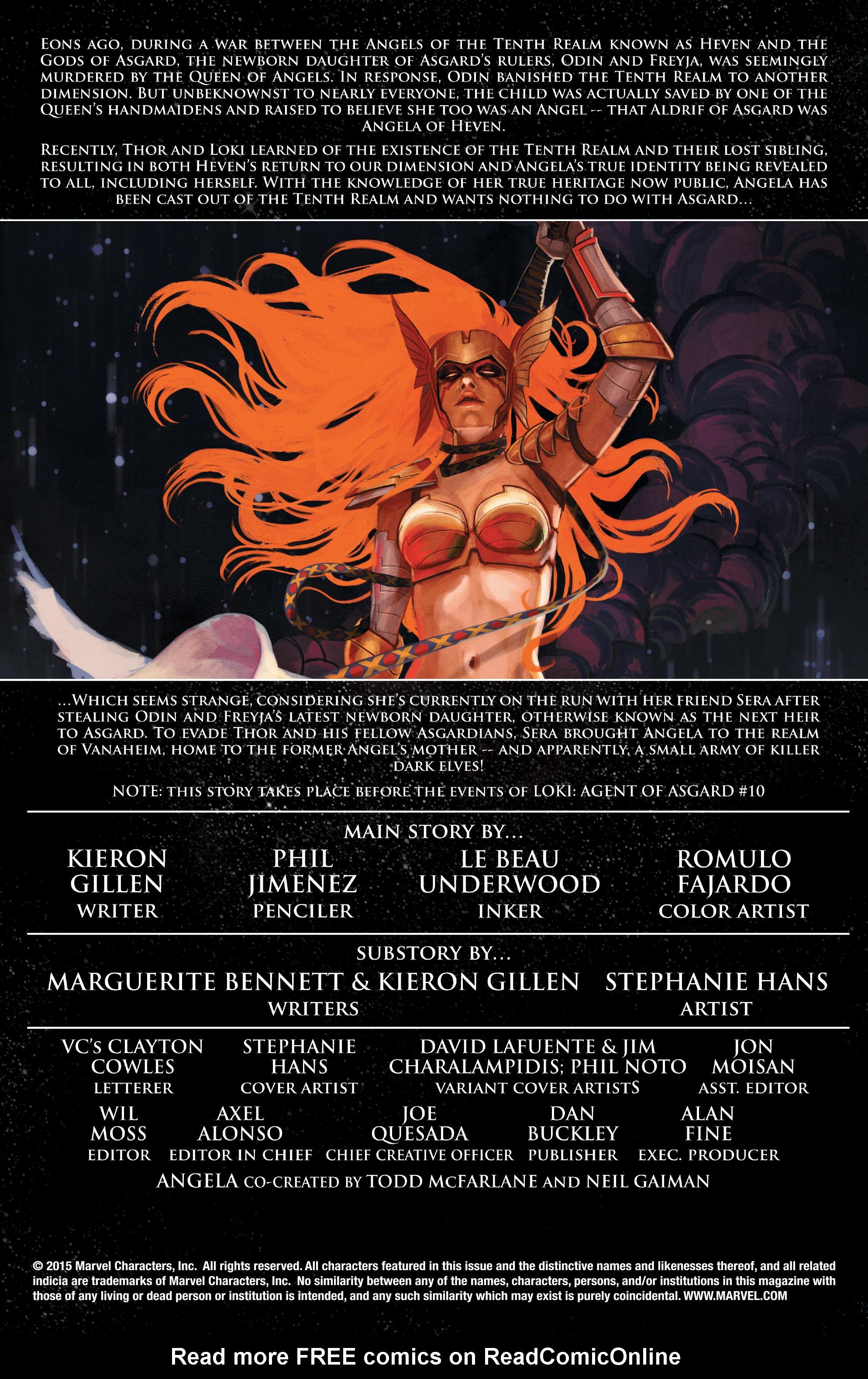 Read online Angela: Asgard's Assassin comic -  Issue #3 - 2