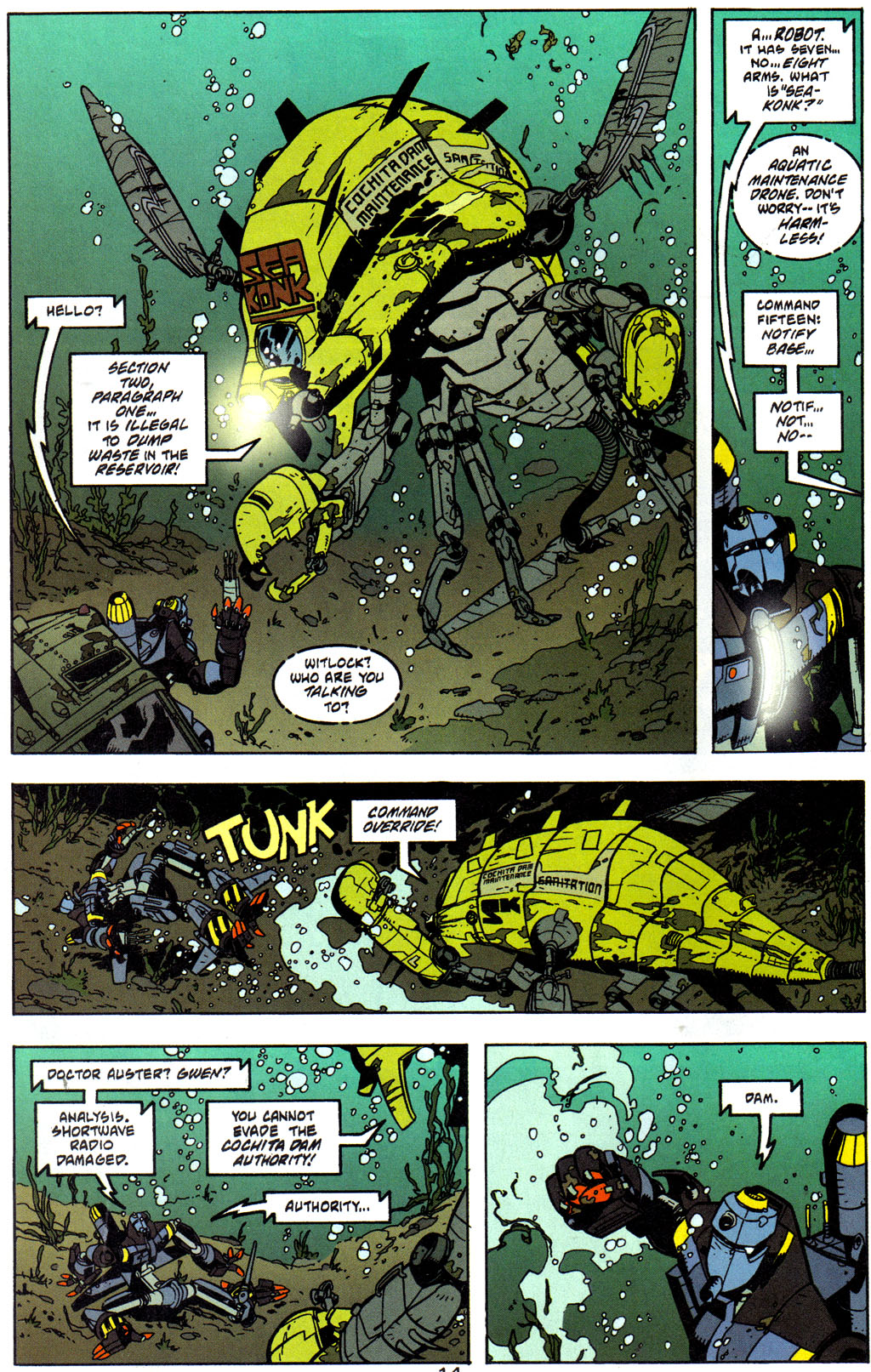 Read online Trouble Magnet comic -  Issue #2 - 15