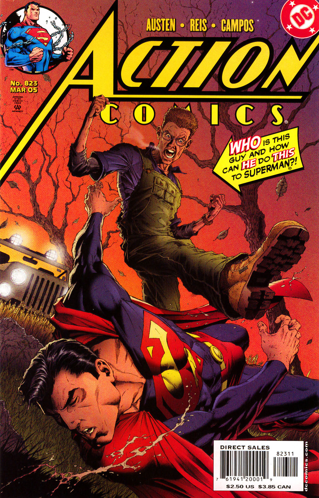 Read online Action Comics (1938) comic -  Issue #823 - 1